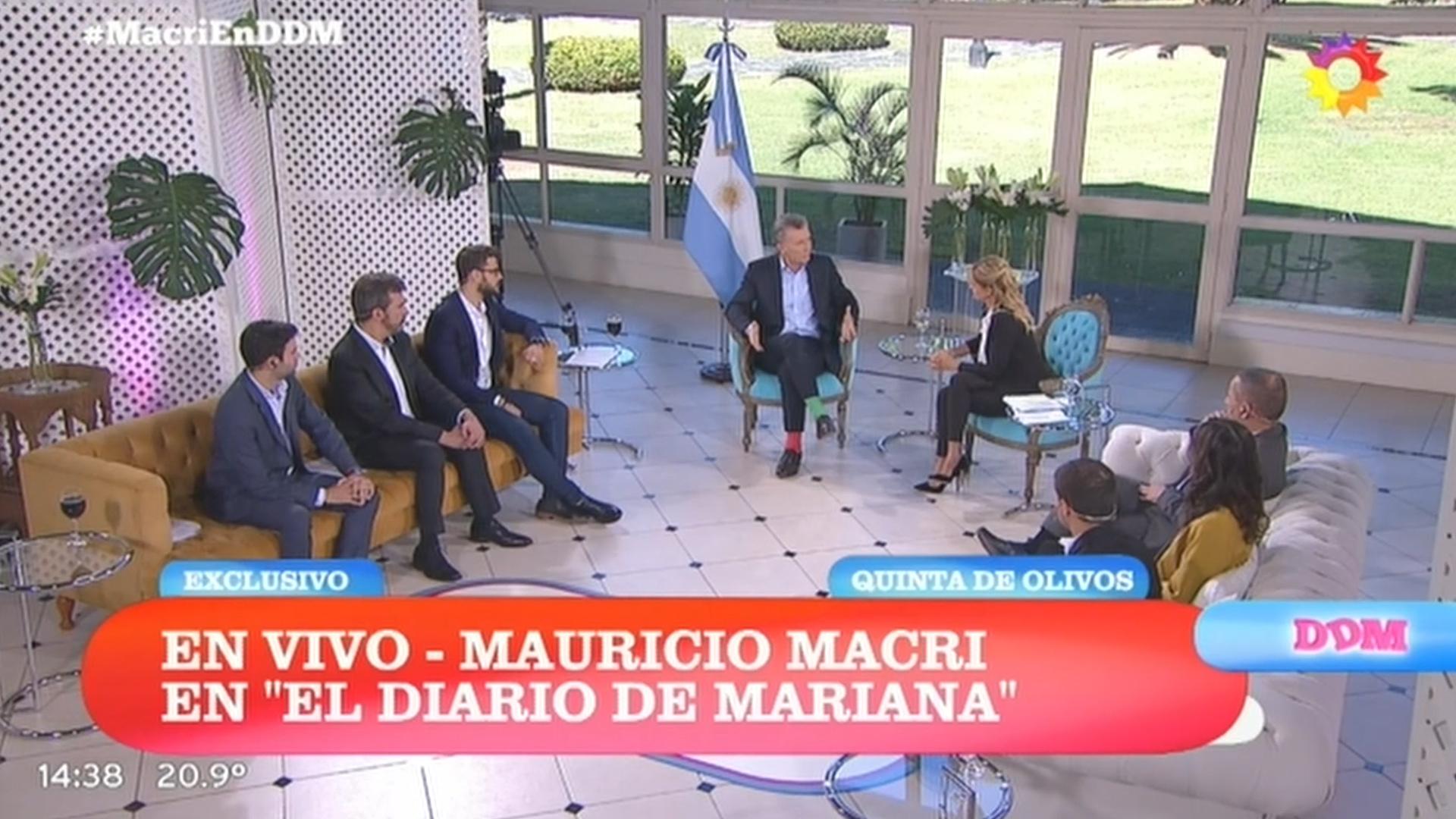 El diario de Mariana, uno de los programas de la productora