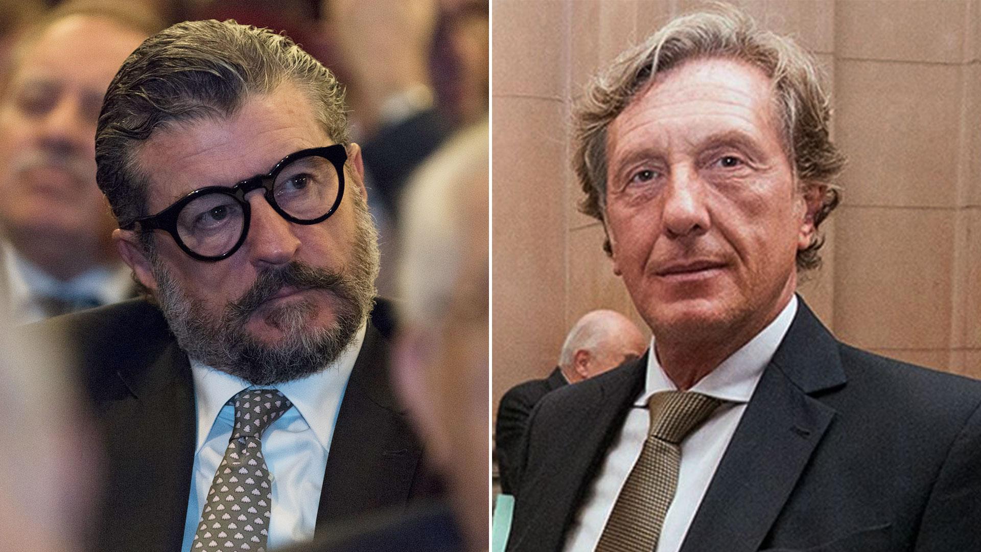 Jorge Ballestero y Eduardo Farah