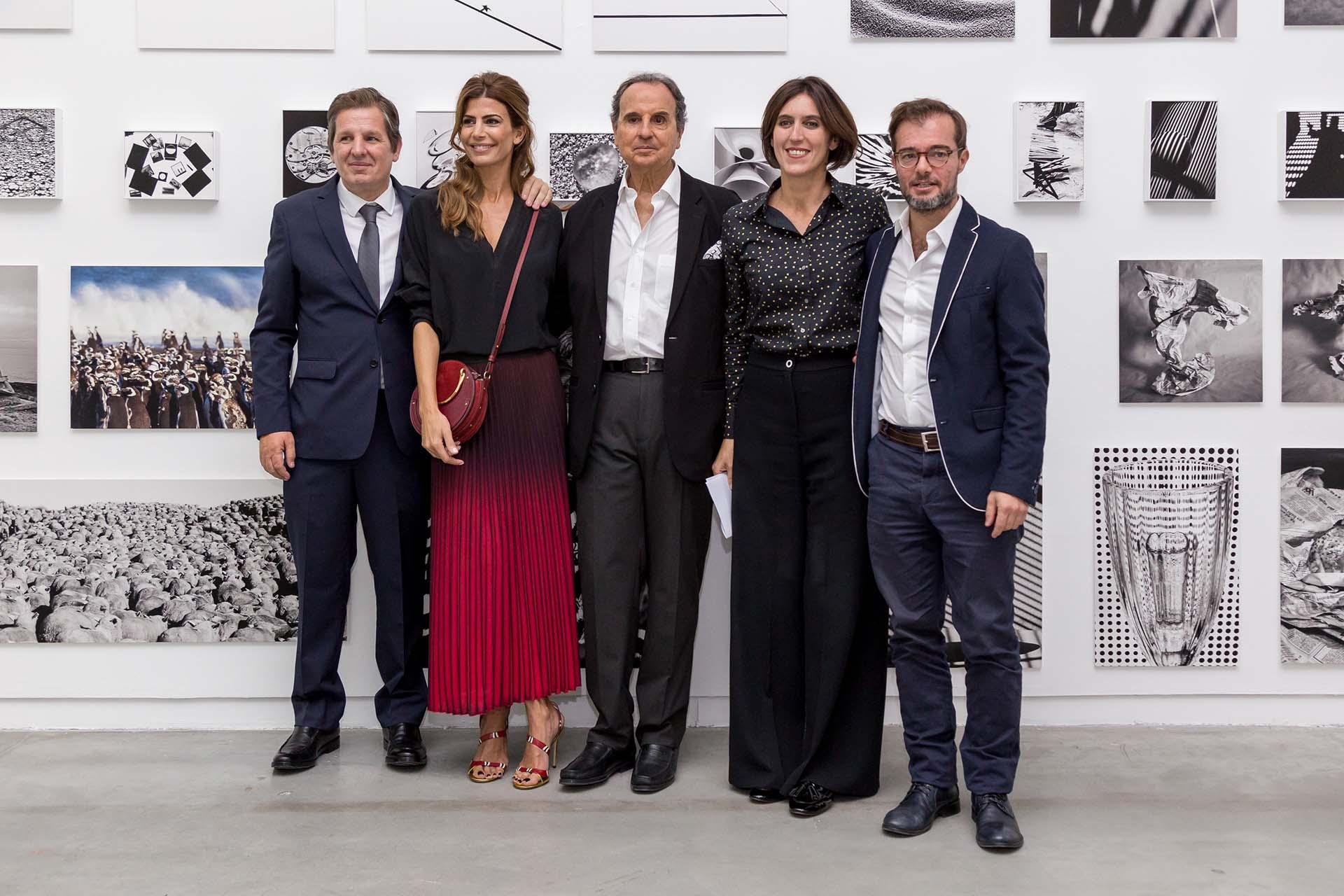 Luis Sessa, Juliana Awada, Aldo Sessa, Victoria Noorthoorn y Enrique Avogadro
