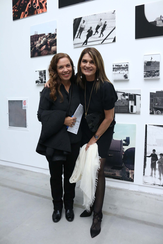 Sandra Mihanovich y Teresa Calandra