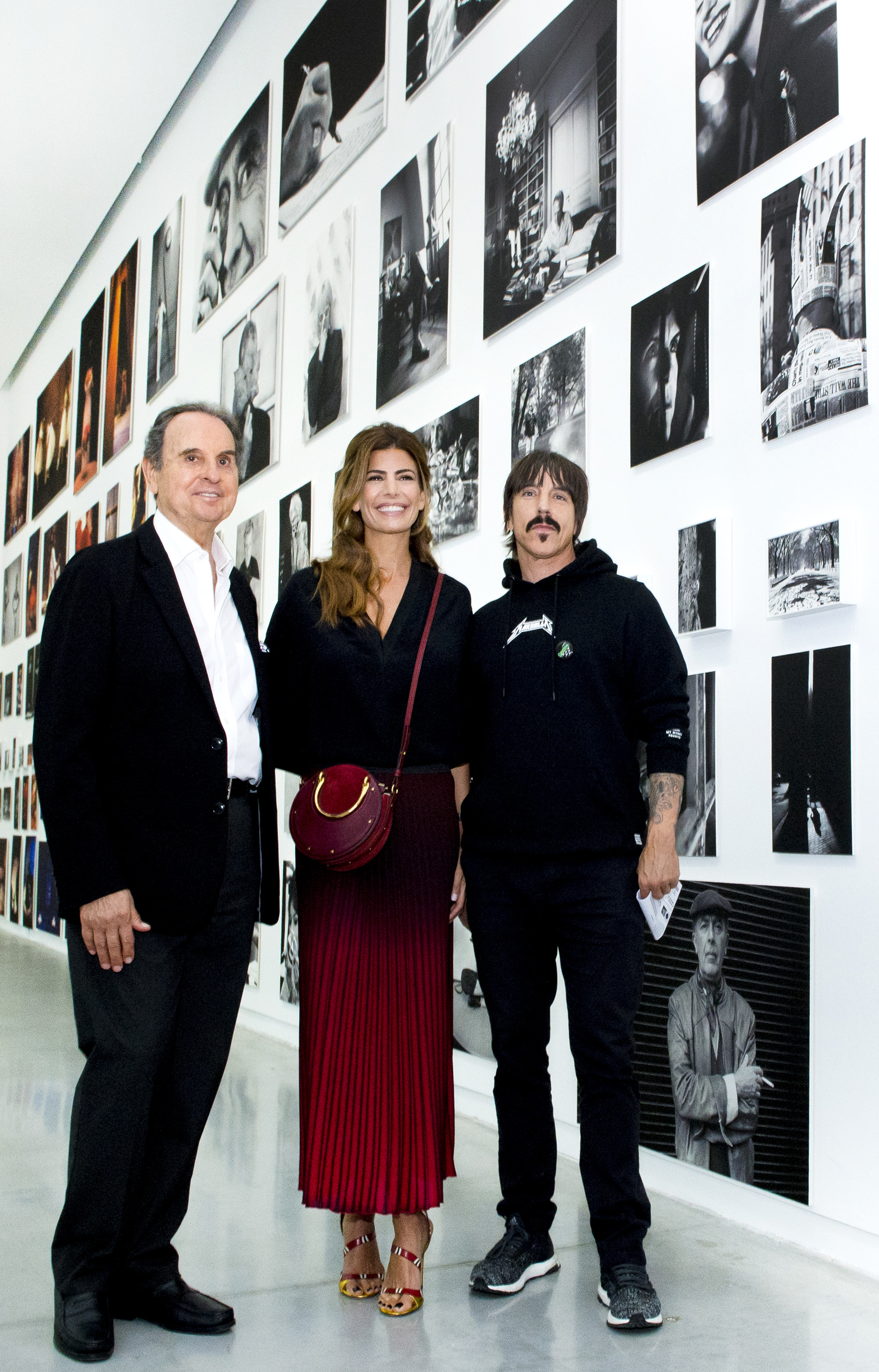 Aldo Sessa, Juliana Awada y Anthony Kiedis