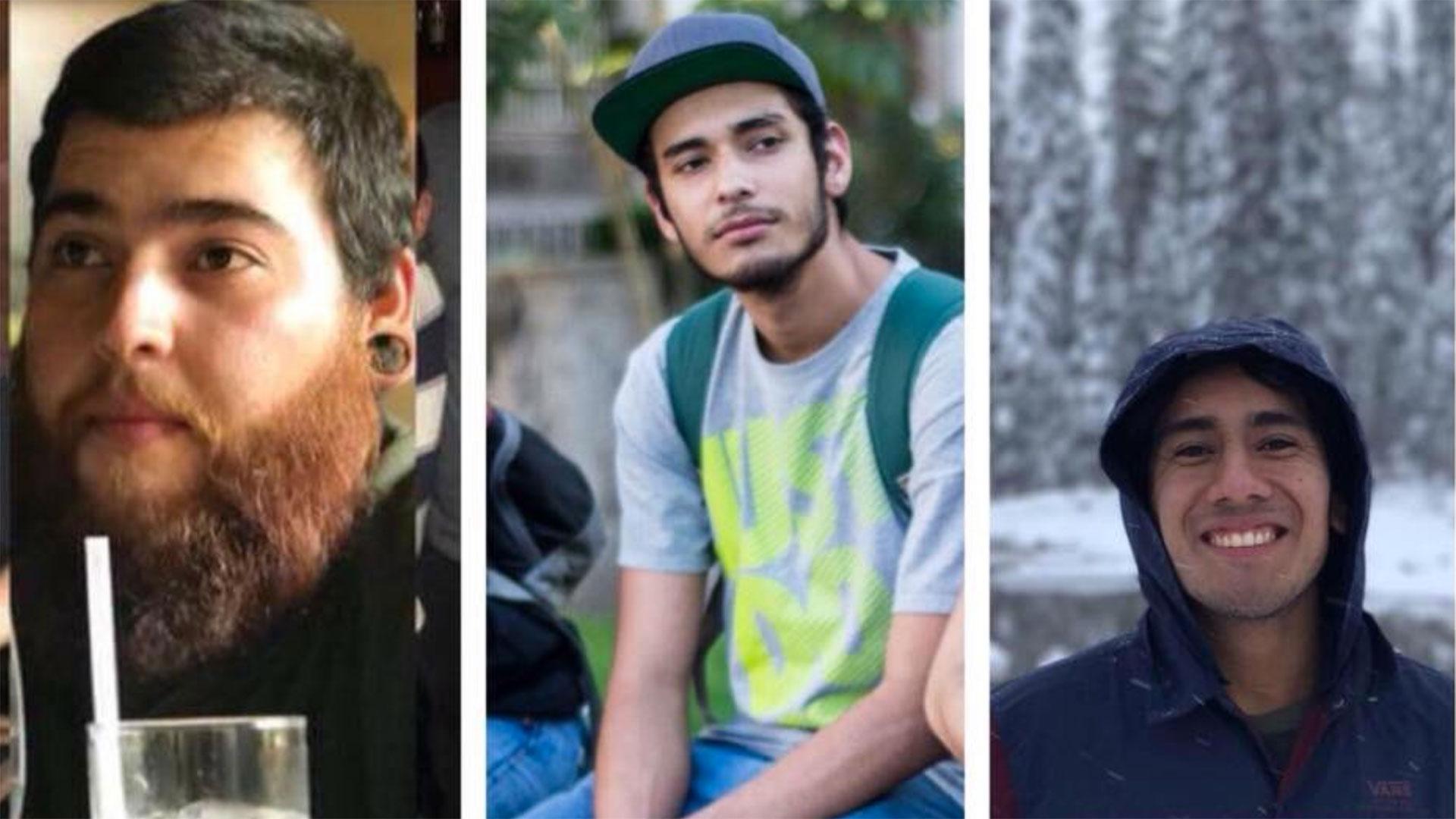 Salomón Aceves Gastélum (25), Daniel Díaz (20) y Marco Ávalos (20) fueron secuestrados y sus cuerpos disueltos en ácido