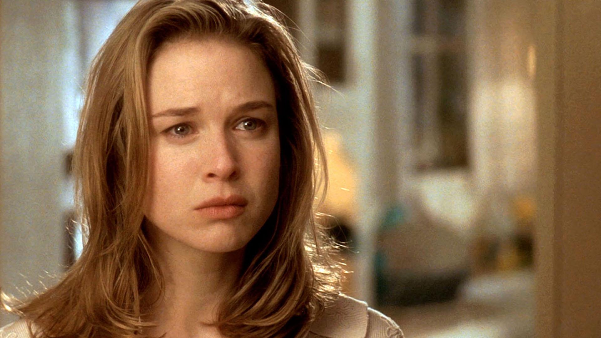"""Renée Zellweger en una escena de """"Jerry Maguire"""" (1996), la película que la hizo popular y la llevó al estrellato. La producción fue un éxito rotundo en la taquilla, y la actriz obtuvo grandes elogios de la crítica"""
