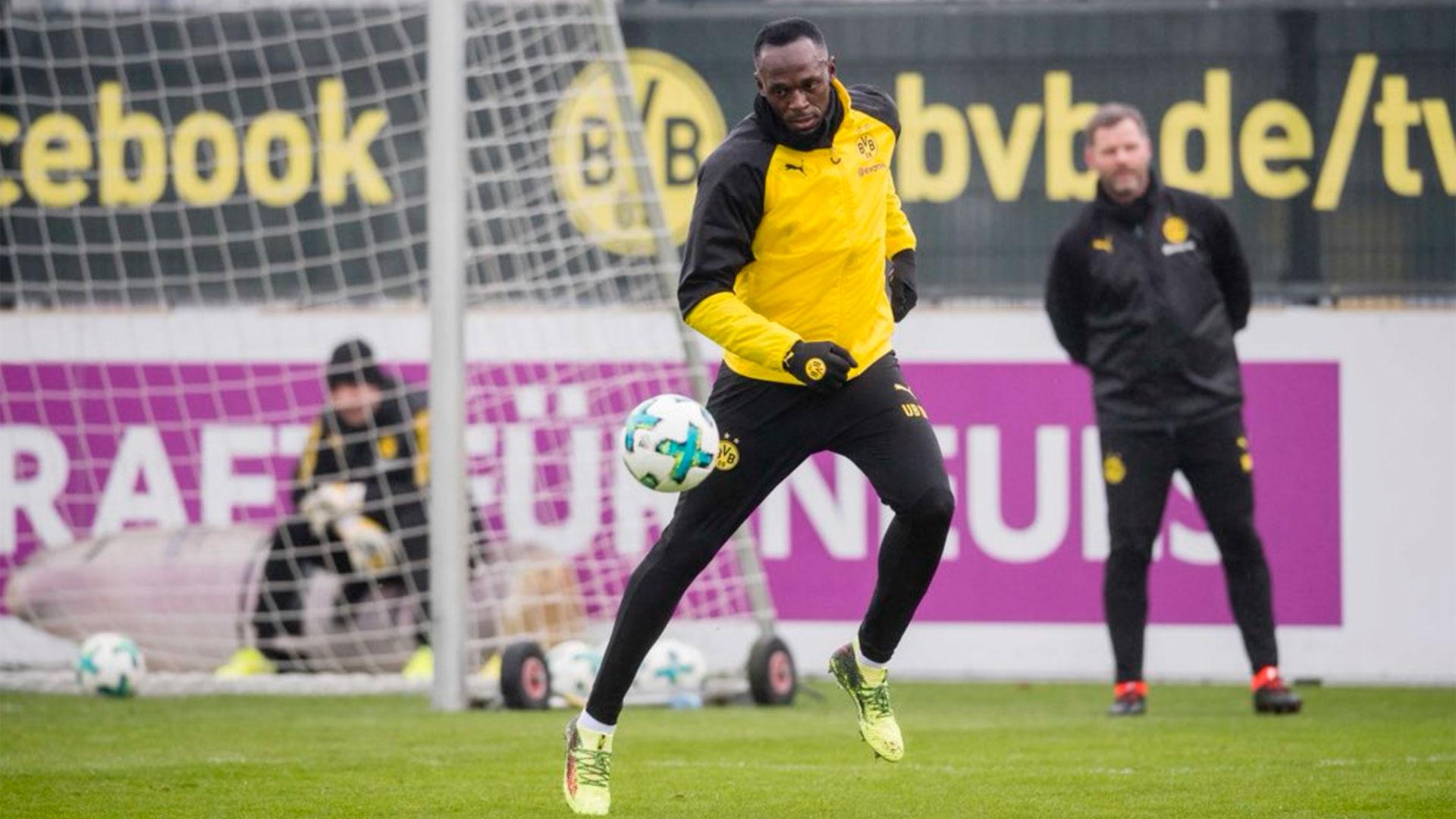 Luego de haber entrenador en el Borussia Dortmund, el ex atleta Usain Bolt se ofreció a la MLS de Estados Unidos
