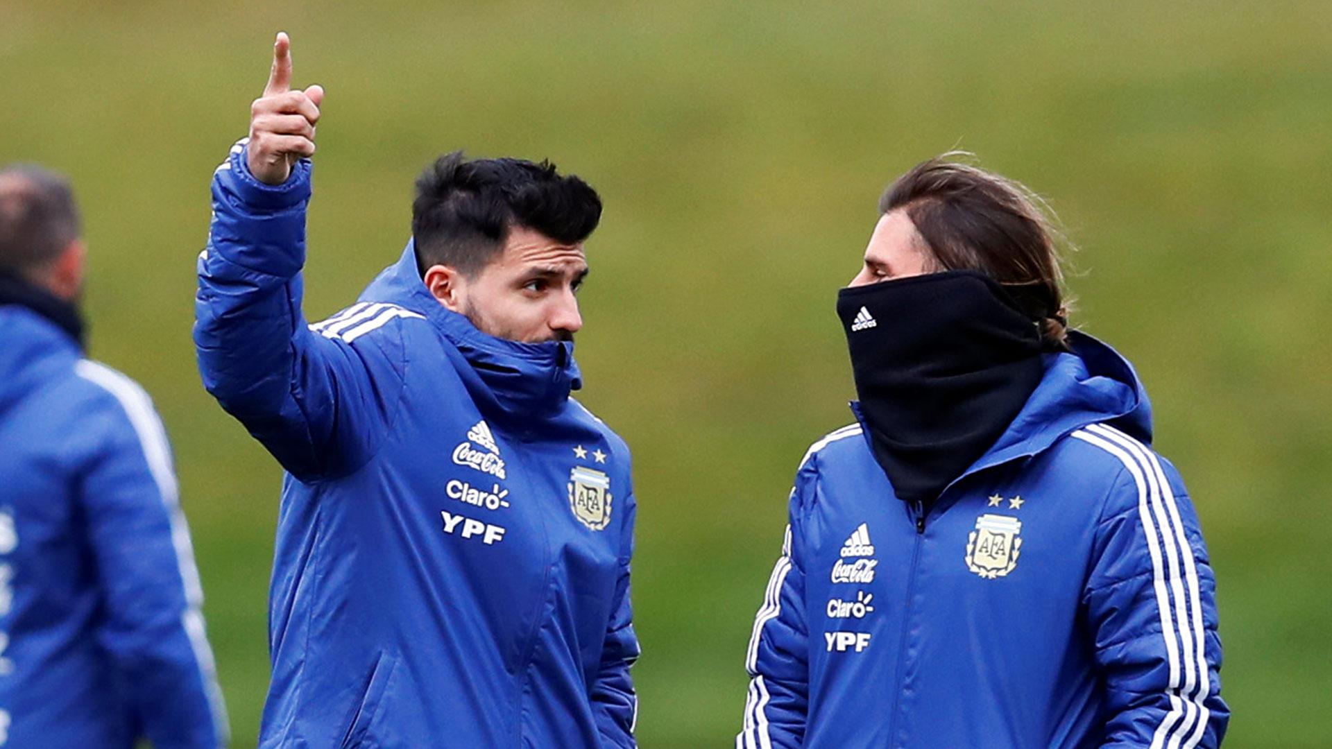 Agüero había quedado afuera de la gira de la Selección por las molestias que arrastraba (Reuters)
