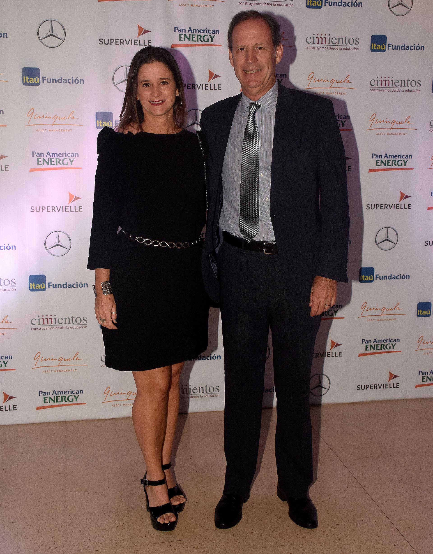 Laura y Miguel Blaquier