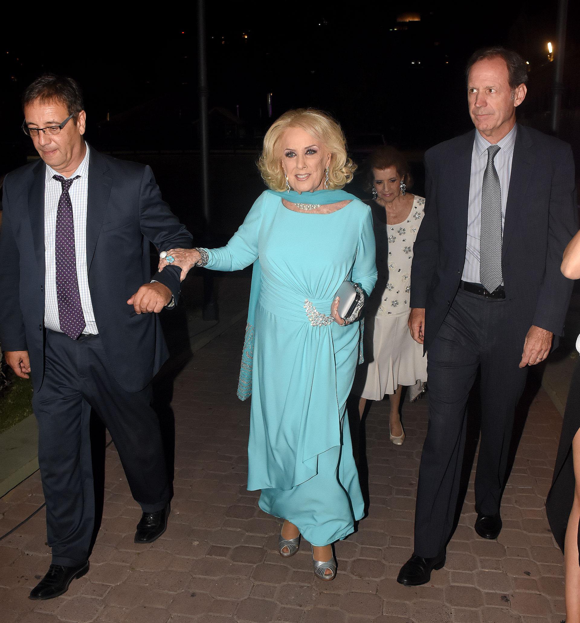 La llegada de Mirtha Legrand