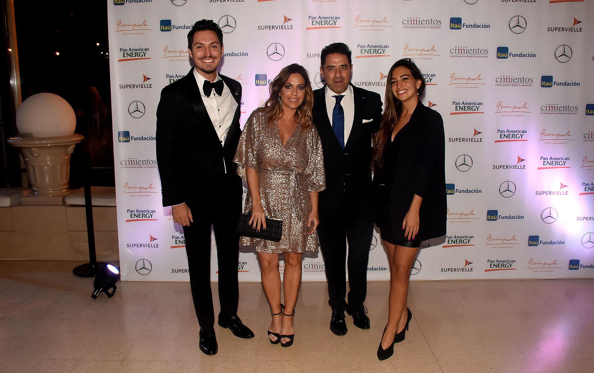 Guido Zaffora, Pía Shaw, Mariano Iúdica y Camila Hadad