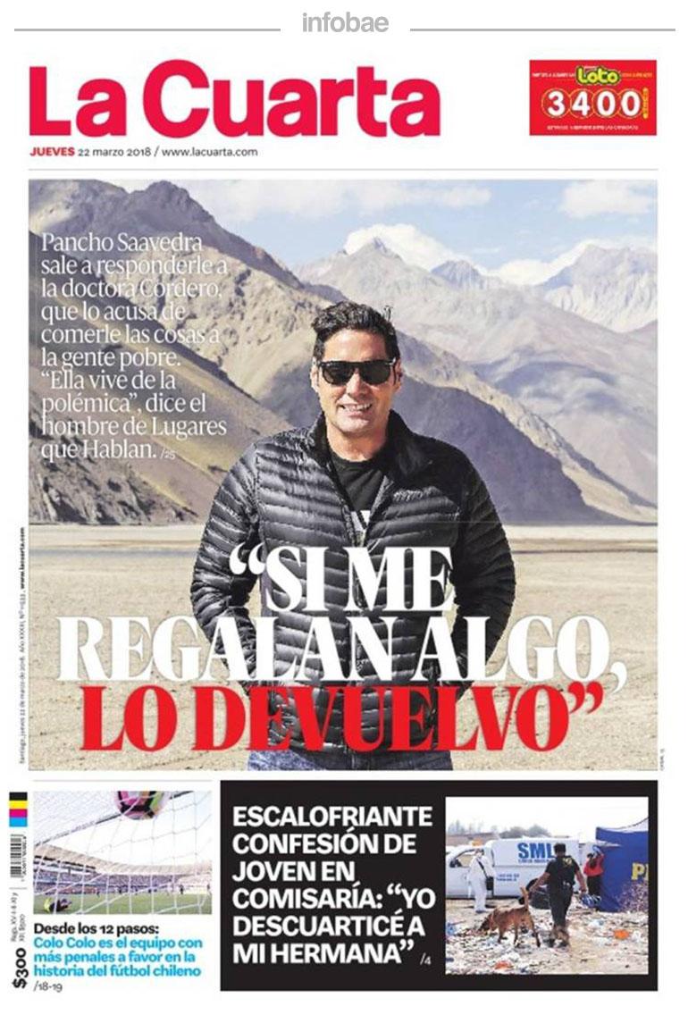 La Cuarta, Chile, 23 de marzo de 2018 | FM Laser 103.5 - Tucumán