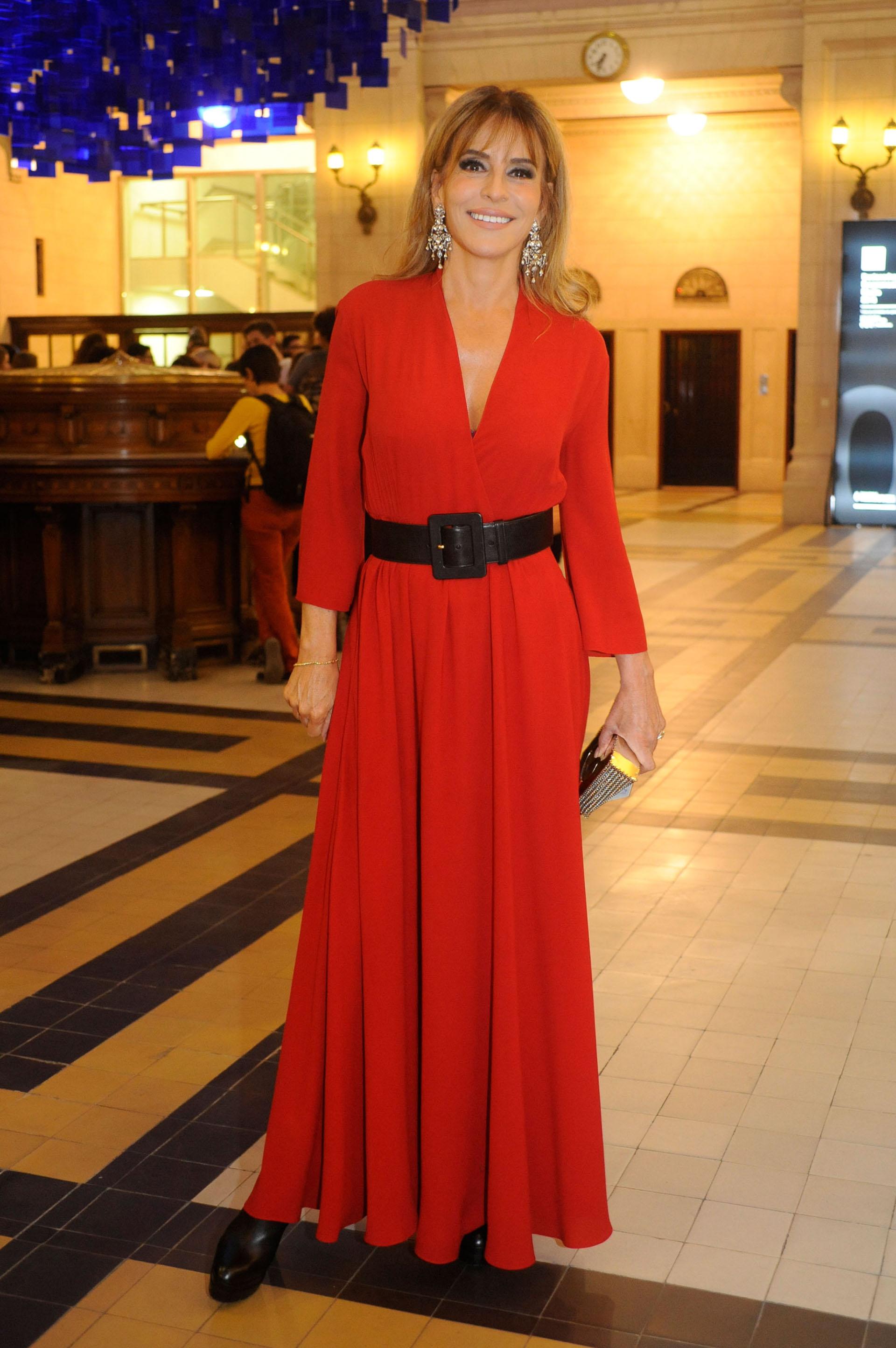 Patricia della Giovampaola asistió al desfile de Gaultier y luego al after party
