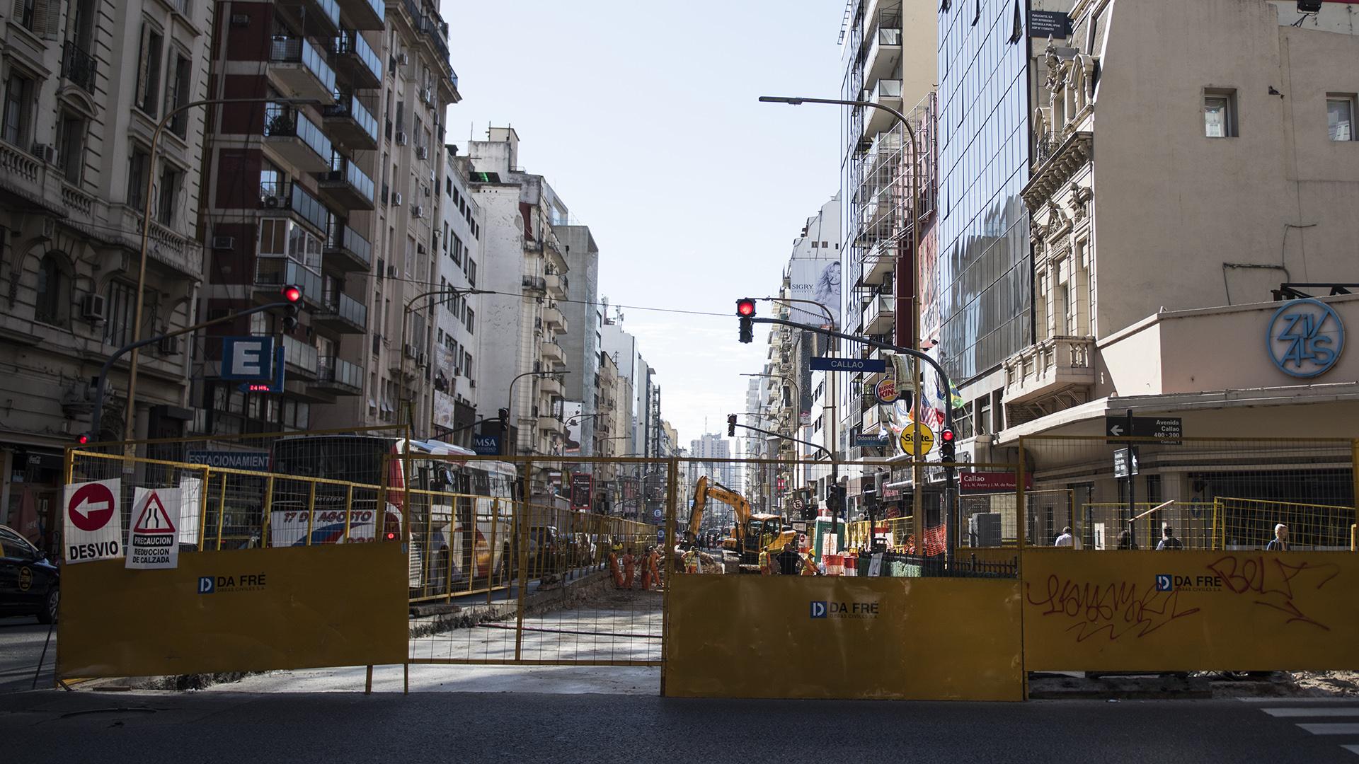 La tradicional avenida Corrientes cambia su cara: una vez terminadas las obras será peatonal