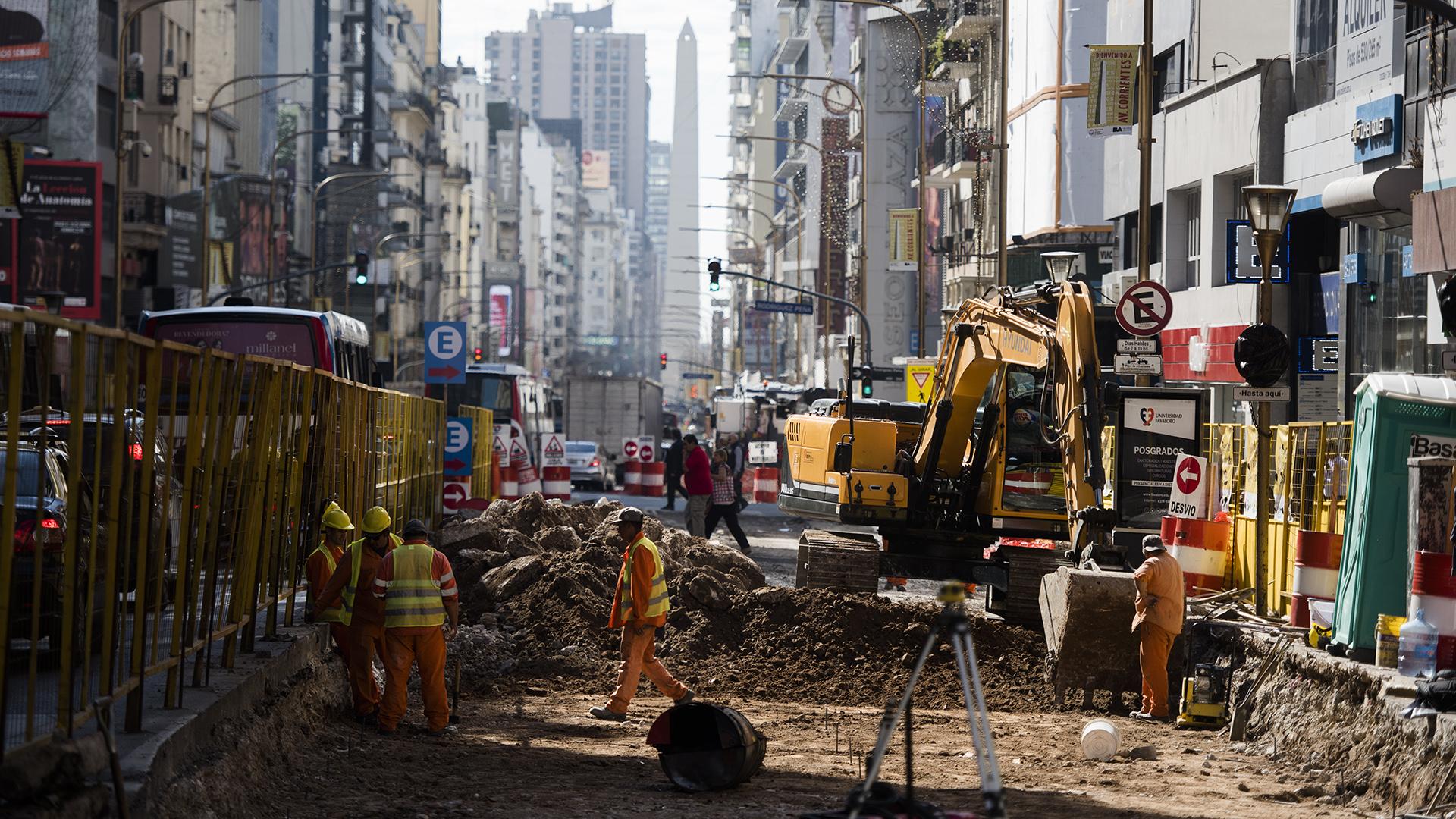 Las obras ya se pusieron en marcha. Una vez terminadas, no podrán circular autos desde Callao hasta Libertad entre las 19:30 y las 2
