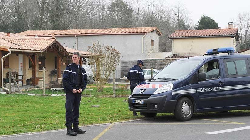 La casa de Louchats donde Ramona Cañete cometió los asesinatos y escondió los cuerpos (AFP)