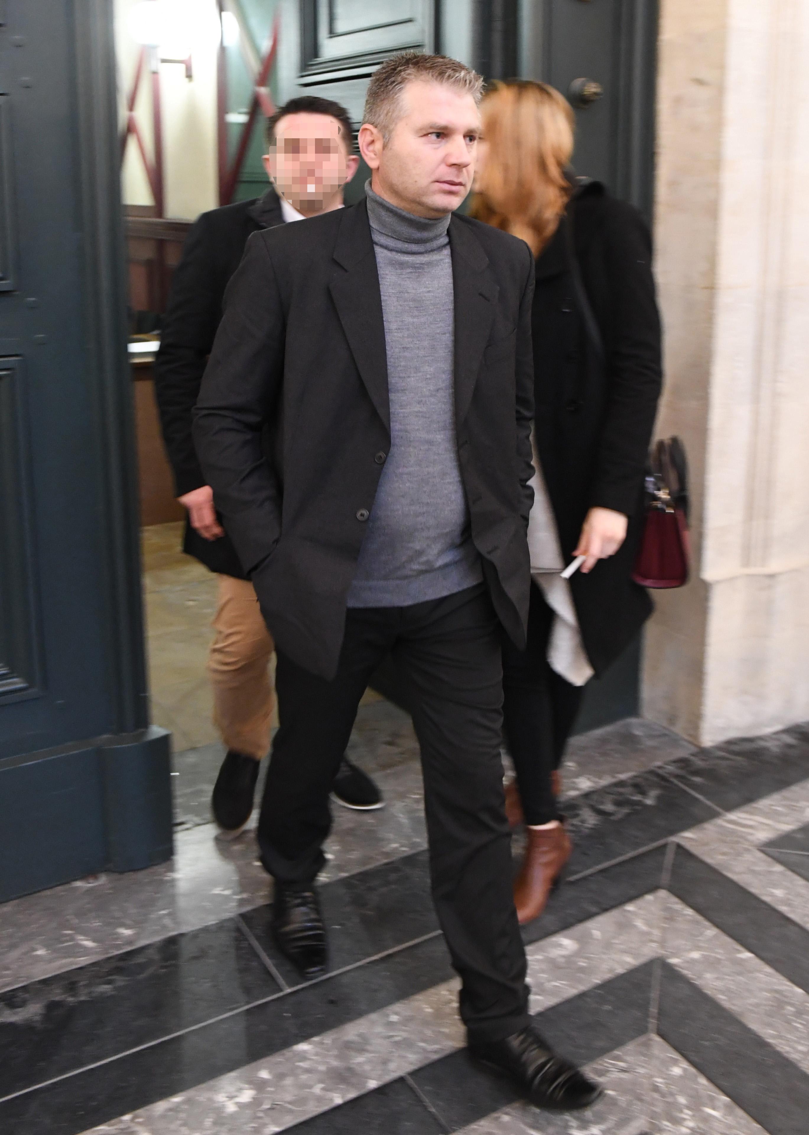 Juan Carlos Cañete, el esposo de la asesina, tras conocerse la sentencia (AFP)