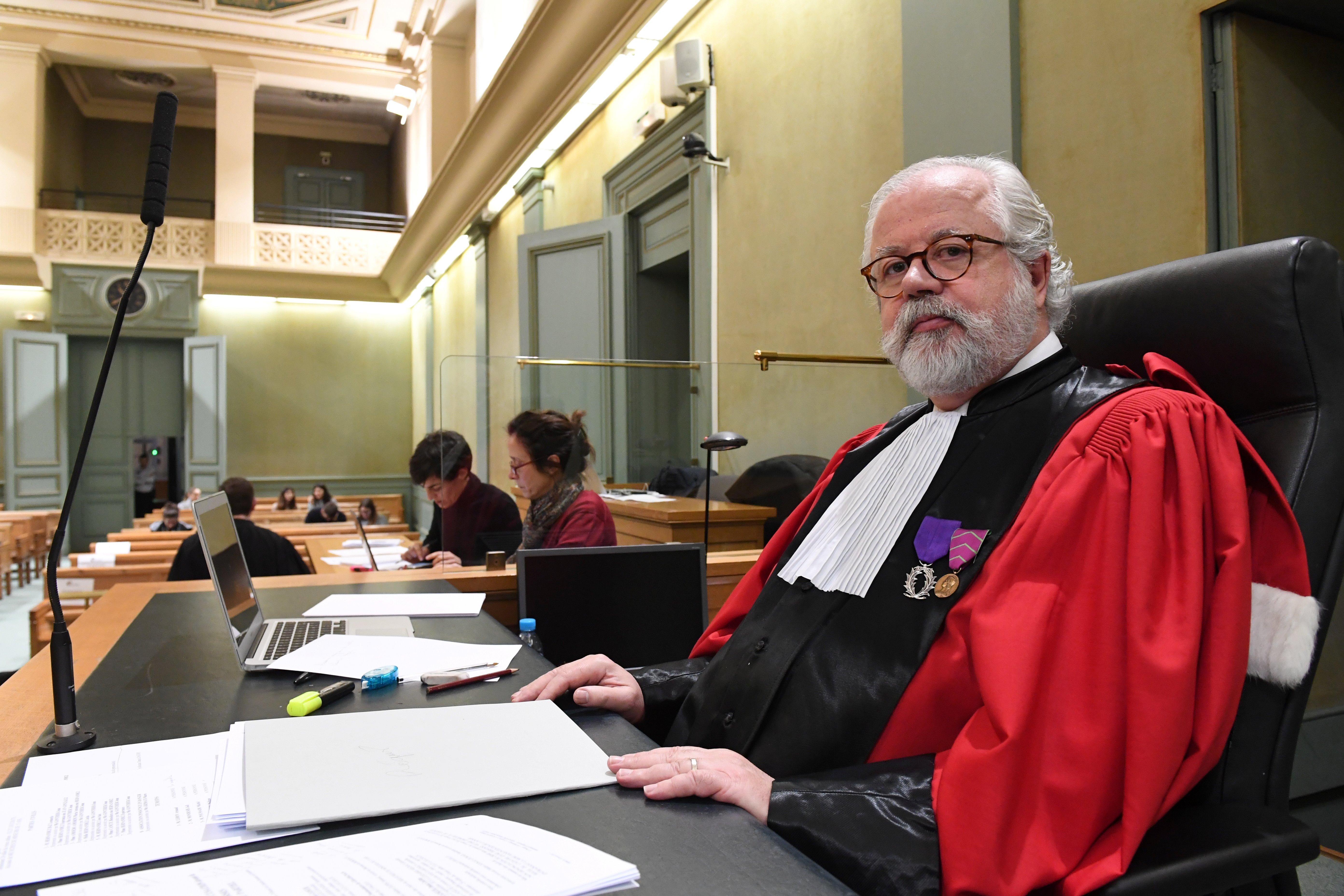 El abogado general del Tribunal Penal de Burdeos, Xavier Chavigne (AFP)