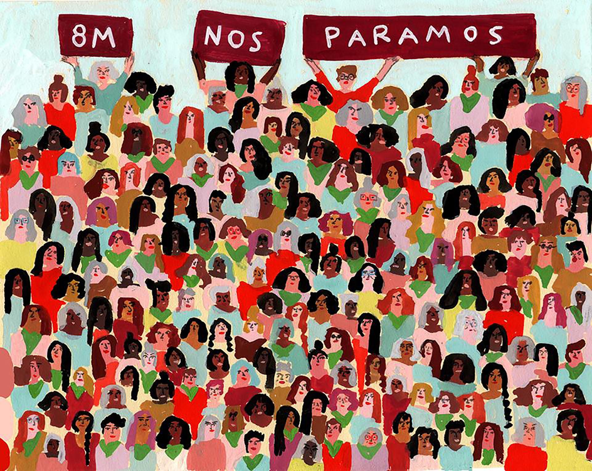 El arte inquieto de María Luque, un ejercicio de libertad, color y pasión por el detalle - Infobae