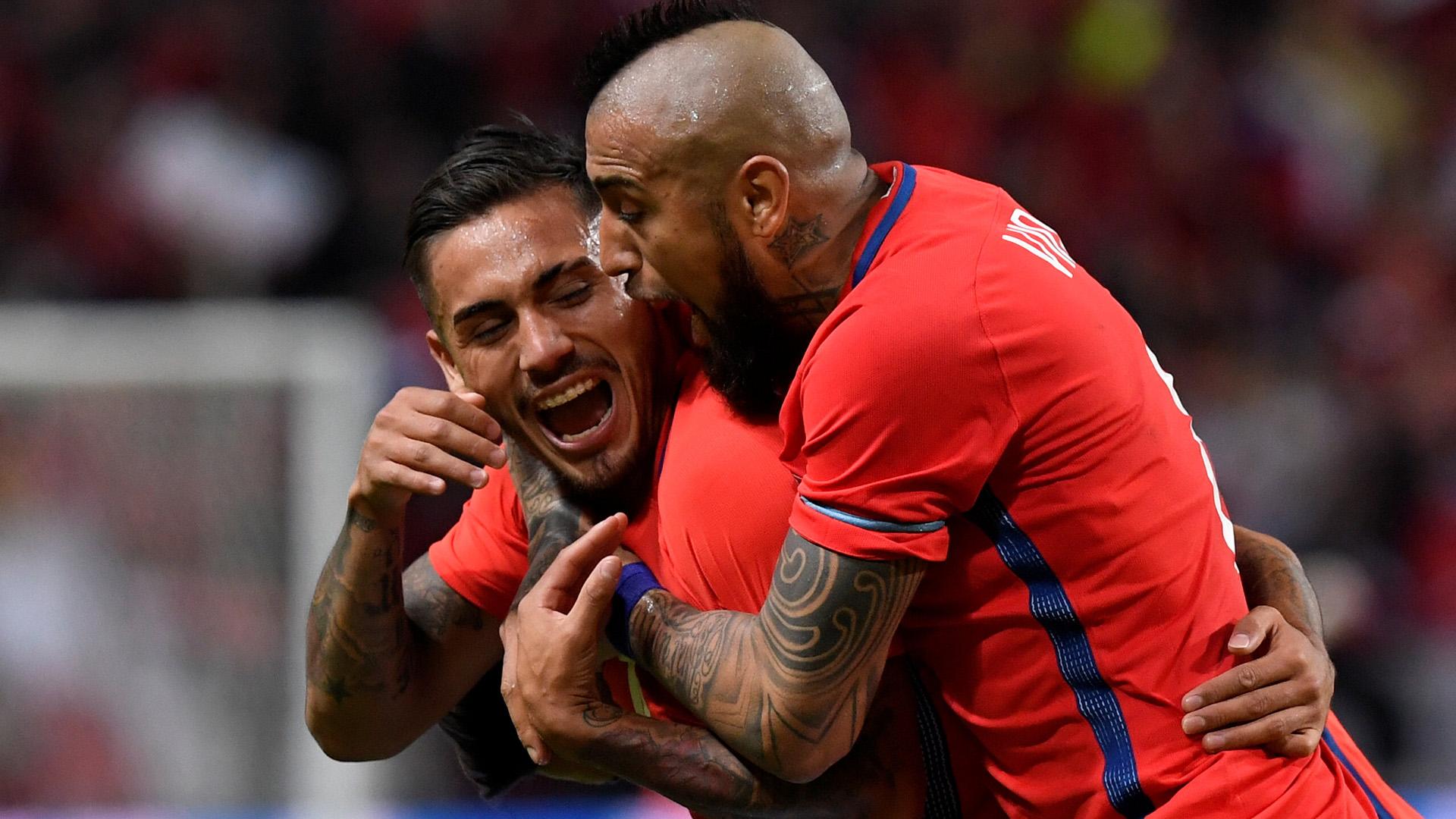 Arturo Vidal destaca luego del triunfo sobre Olympique de Lyon (5-1), que le permitió a Barcelona avanzar a cuartos de final de la Champions League (Foto: Reuters)