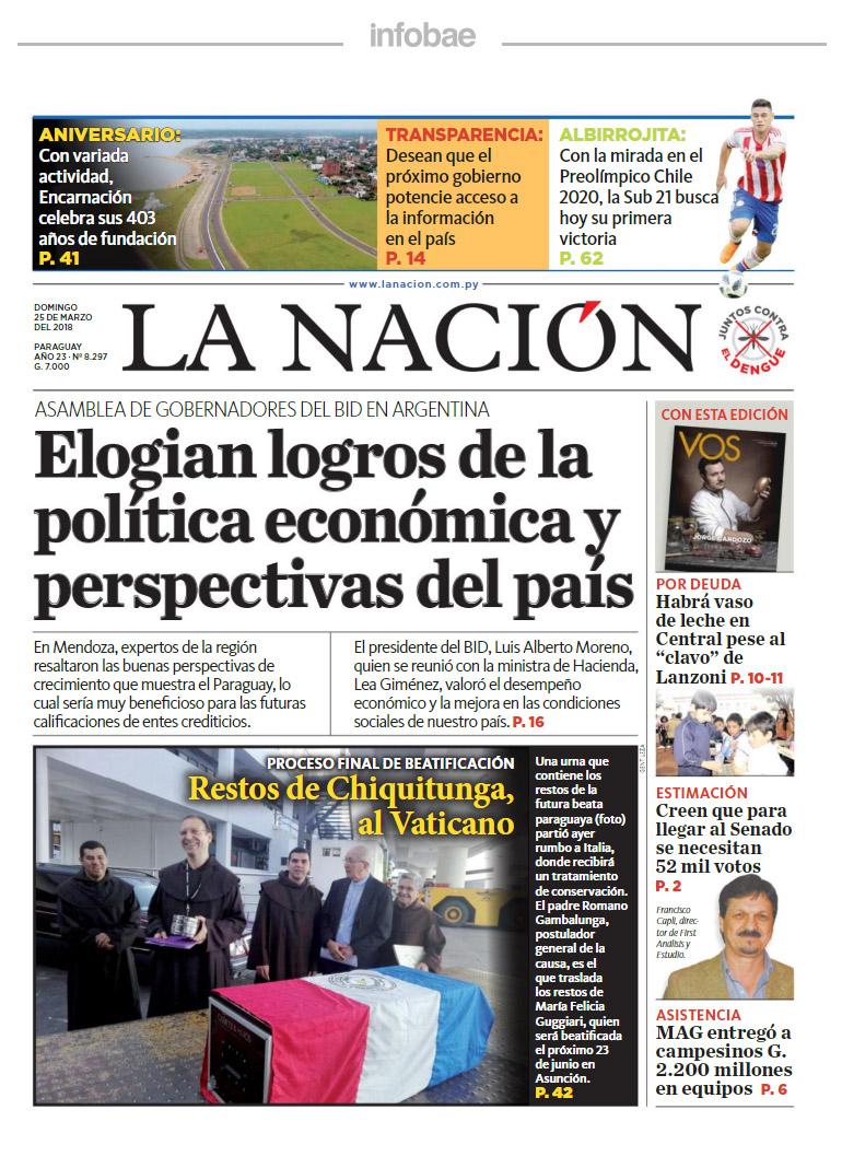 TN - Ultimas Noticias   Intranet del COPADE