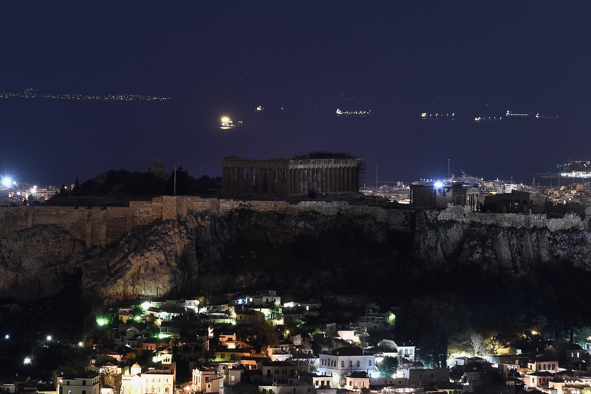 El Partenón, en Atenas