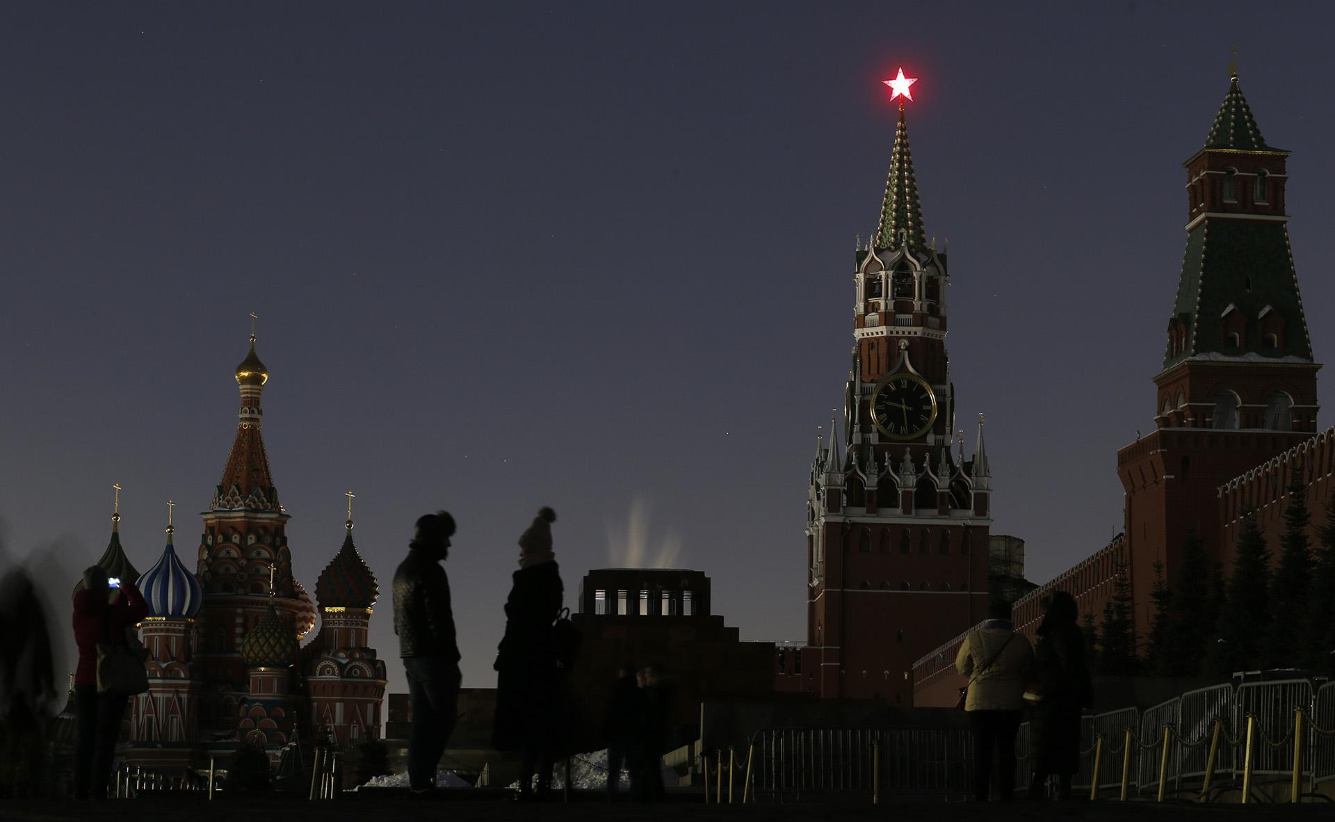 El Kremlin, Moscú
