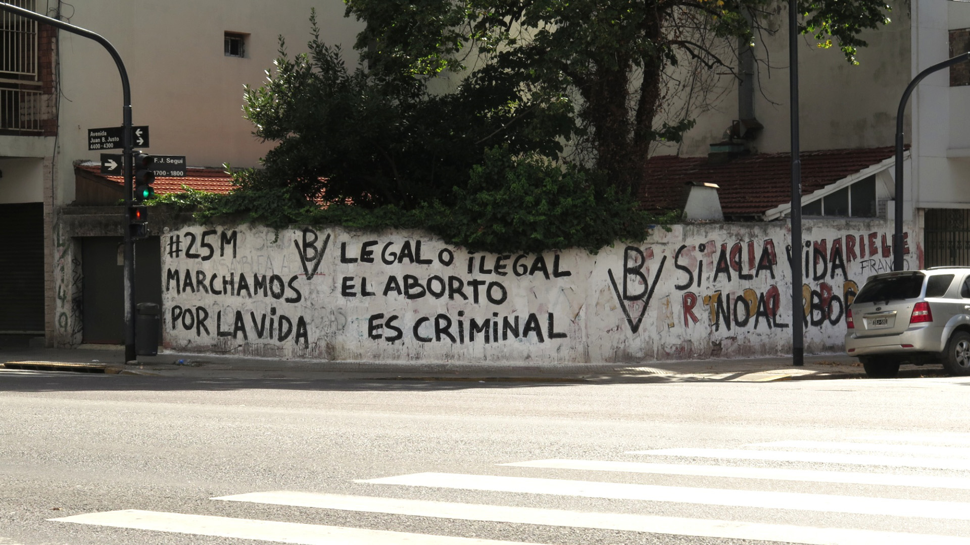"""Legal o ilegal el aborto es criminal"""