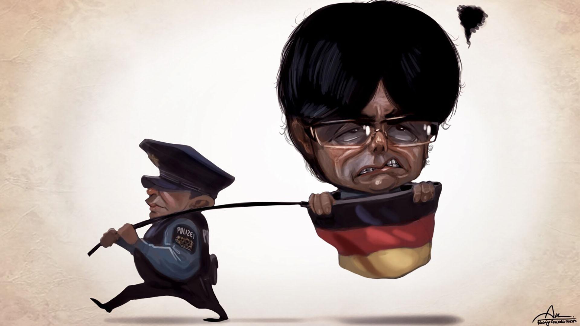 Carles Puigdemont fue detenido en Alemania mientras se dirigía a Bélgica
