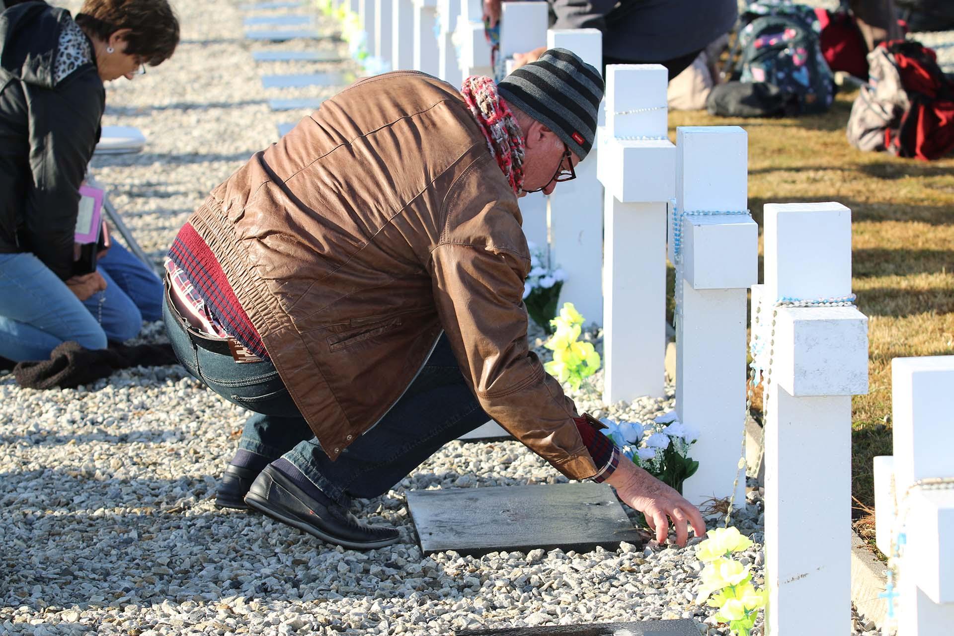 Demetrio Dworak, hermano de Vladimiro, soldado de Campo Largo. El combatiente murió en un enfrentamiento con paracaidistas británicos en Puerto Darwin