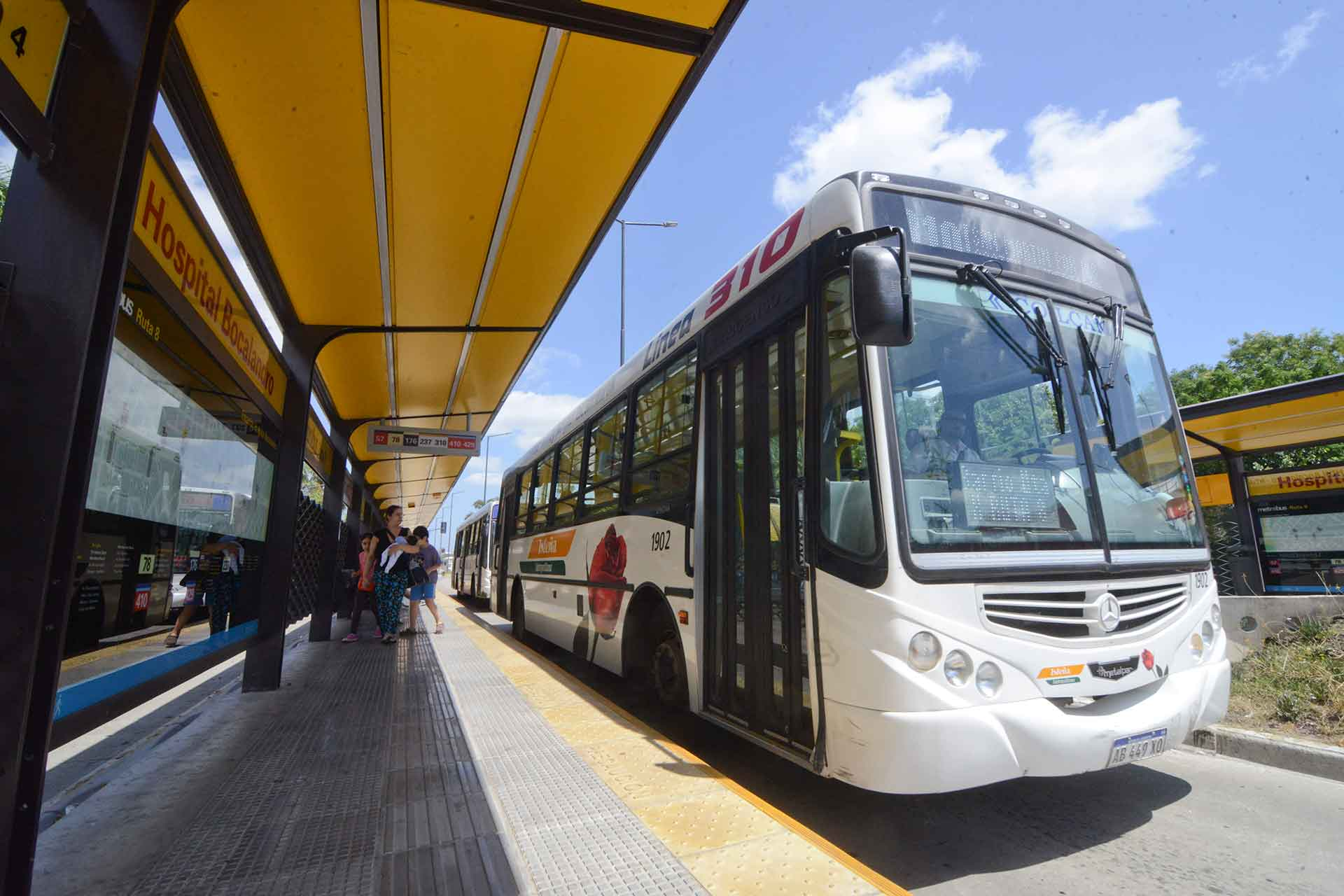 El metrobus de la 9 de Julio estará inhabilitado desde las 18 horas