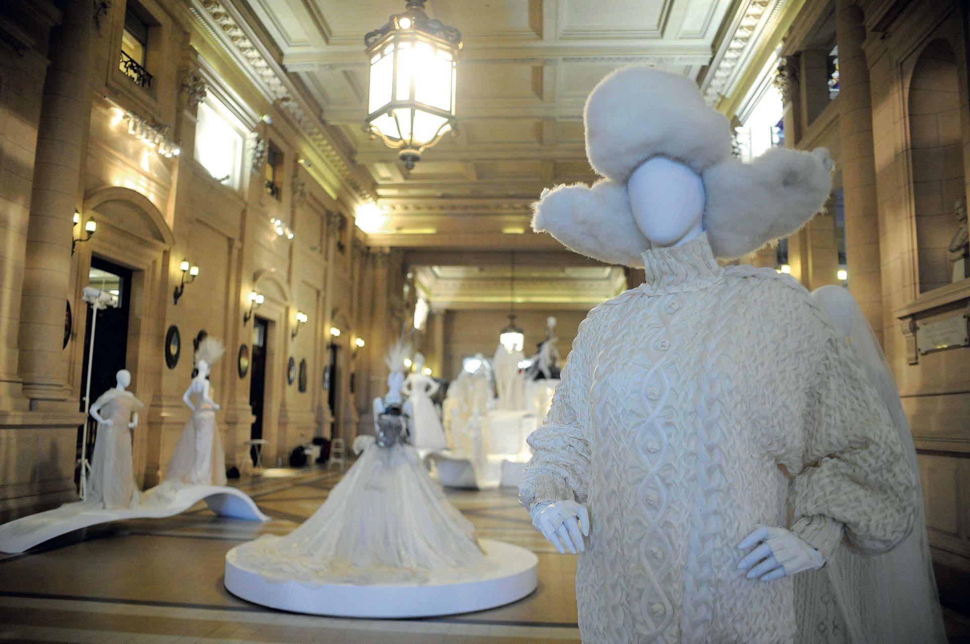 Exhibición de Jean Paul Gaultier en Buenos Aires. (Fotos: Francisco Trombetta/ Julio Ruiz /GENTE)