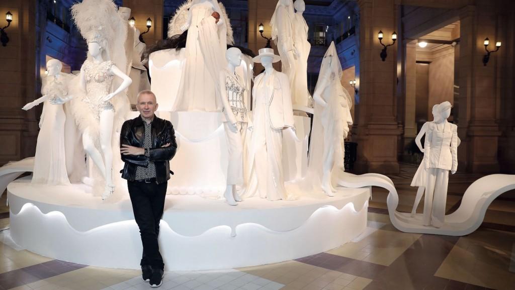Jean Paul Gaultier en Buenos Aires. (Foto GENTE)