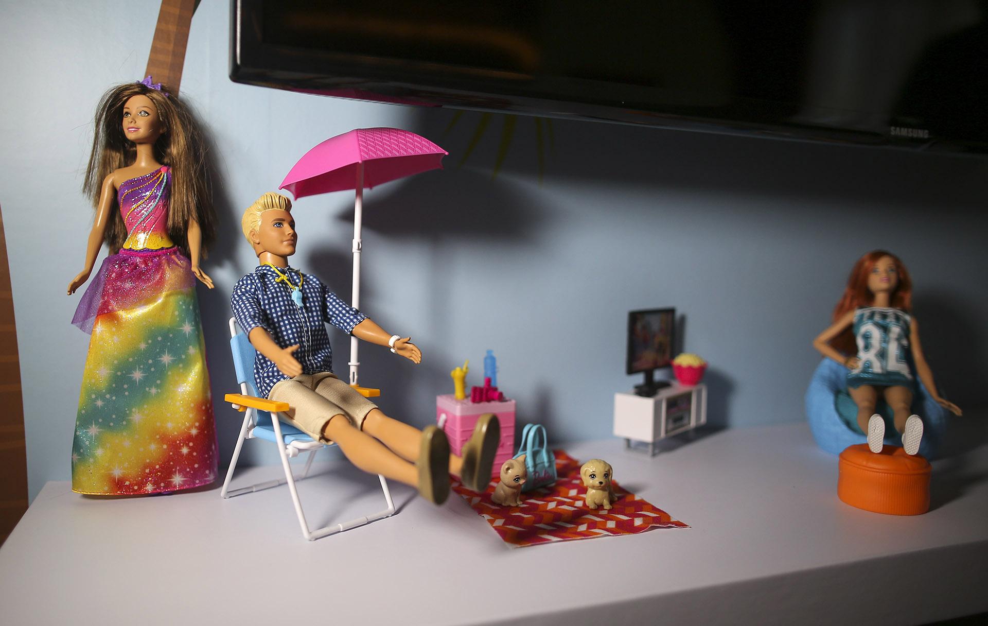 Toda la familia Barbie a disposición para juegos a toda hora