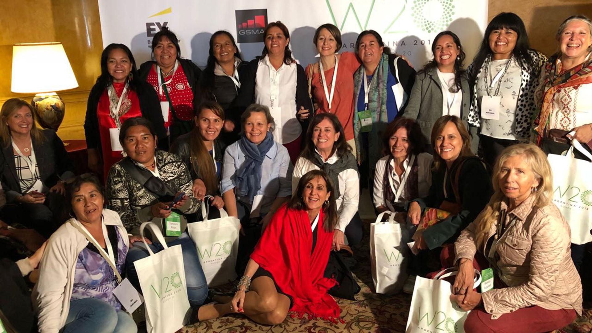 Mujeres rurales de 18 provincias argentinas