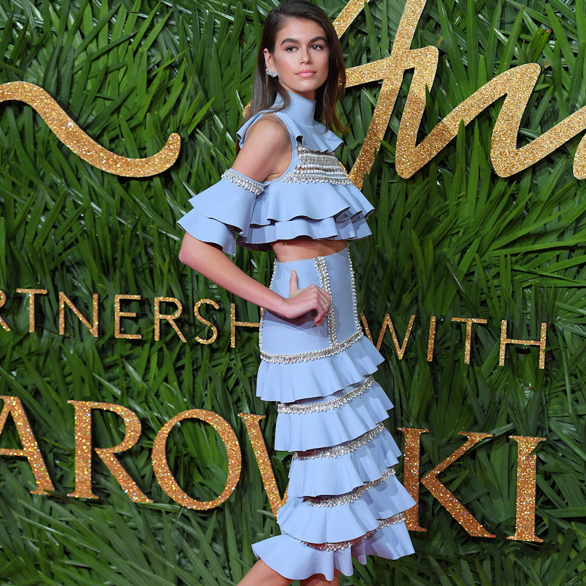 Kaia Gerber by Ralph & Russo (Foto Instagram)