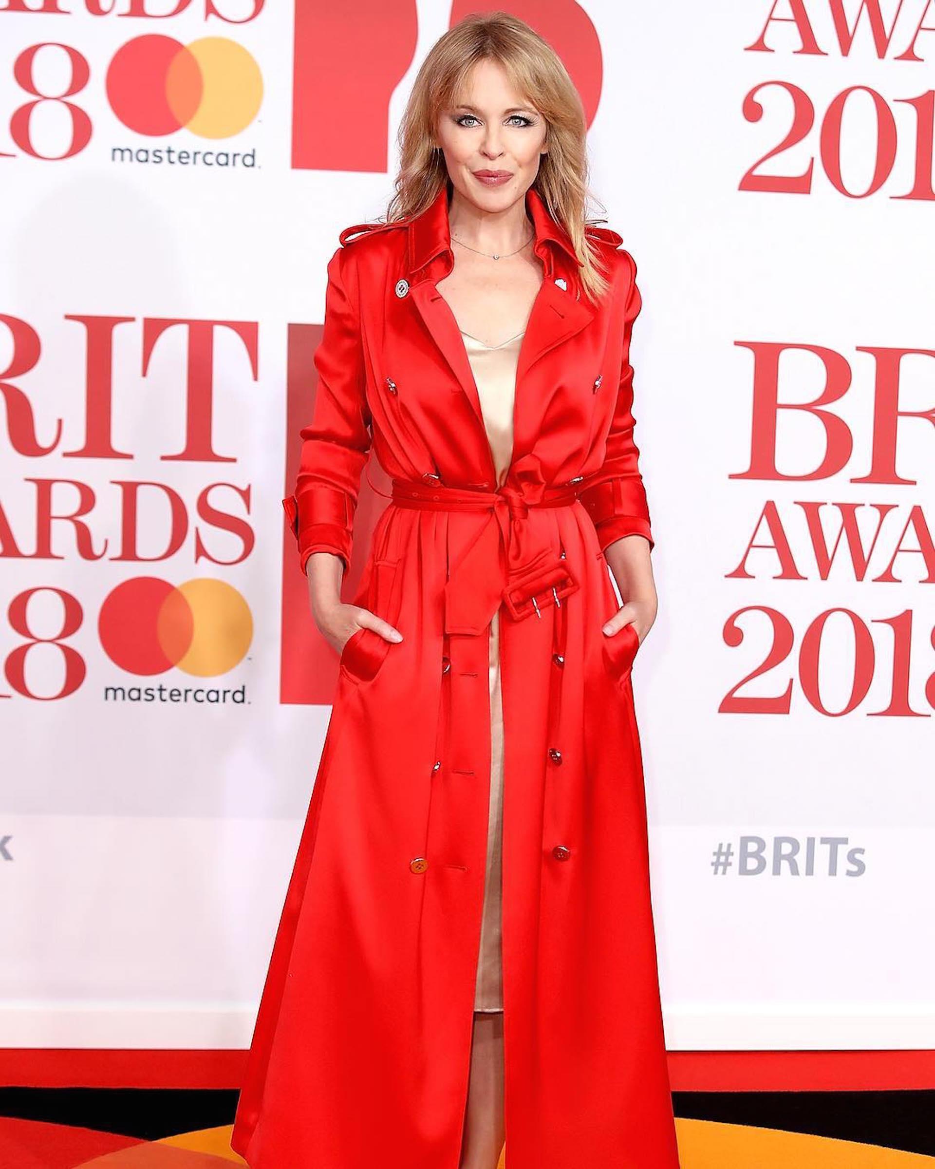 Kylie Minogue by Ralph & Russo (Foto Instagram)
