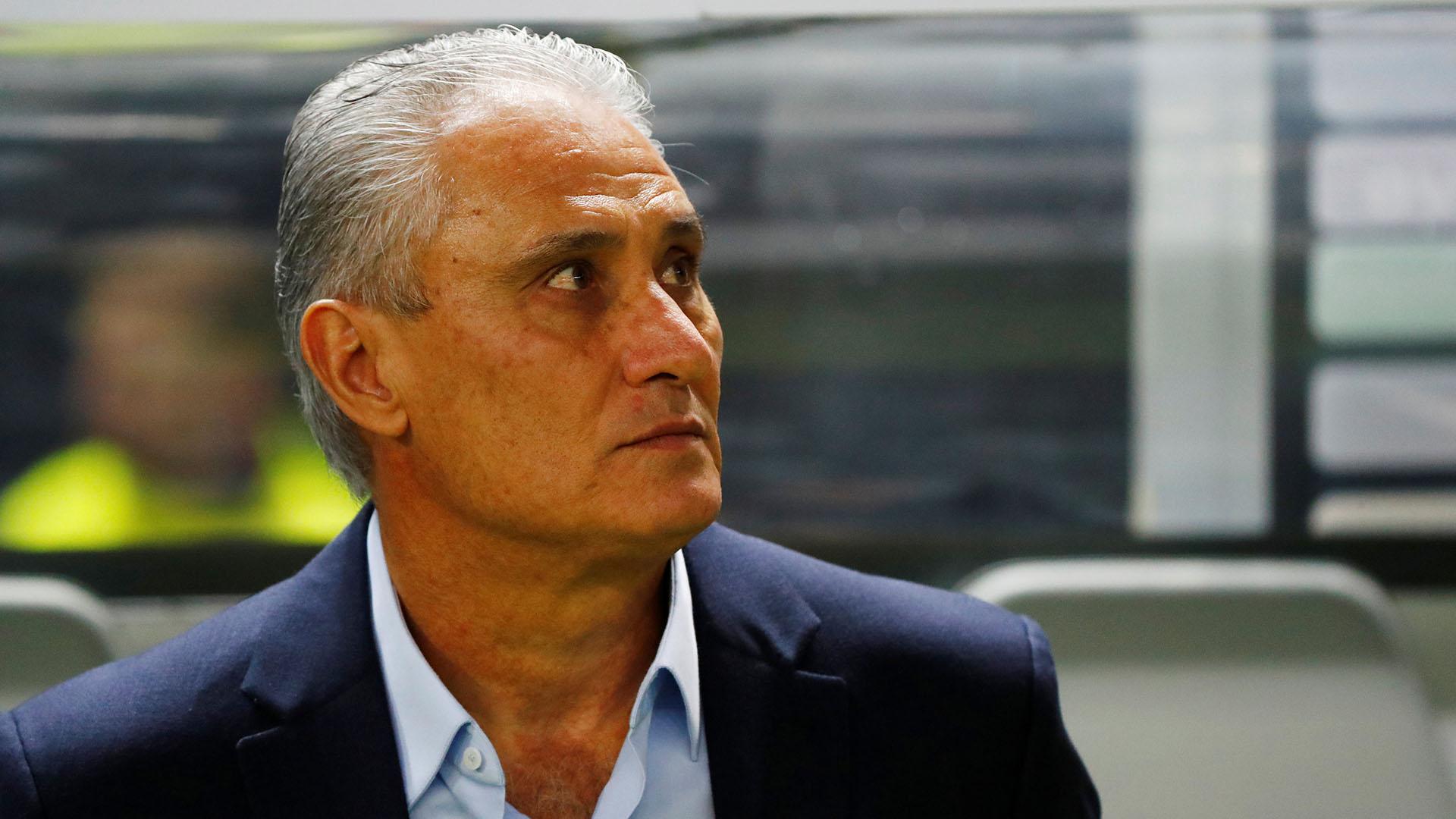 Tite, entrenador de Brasil (REUTERS)