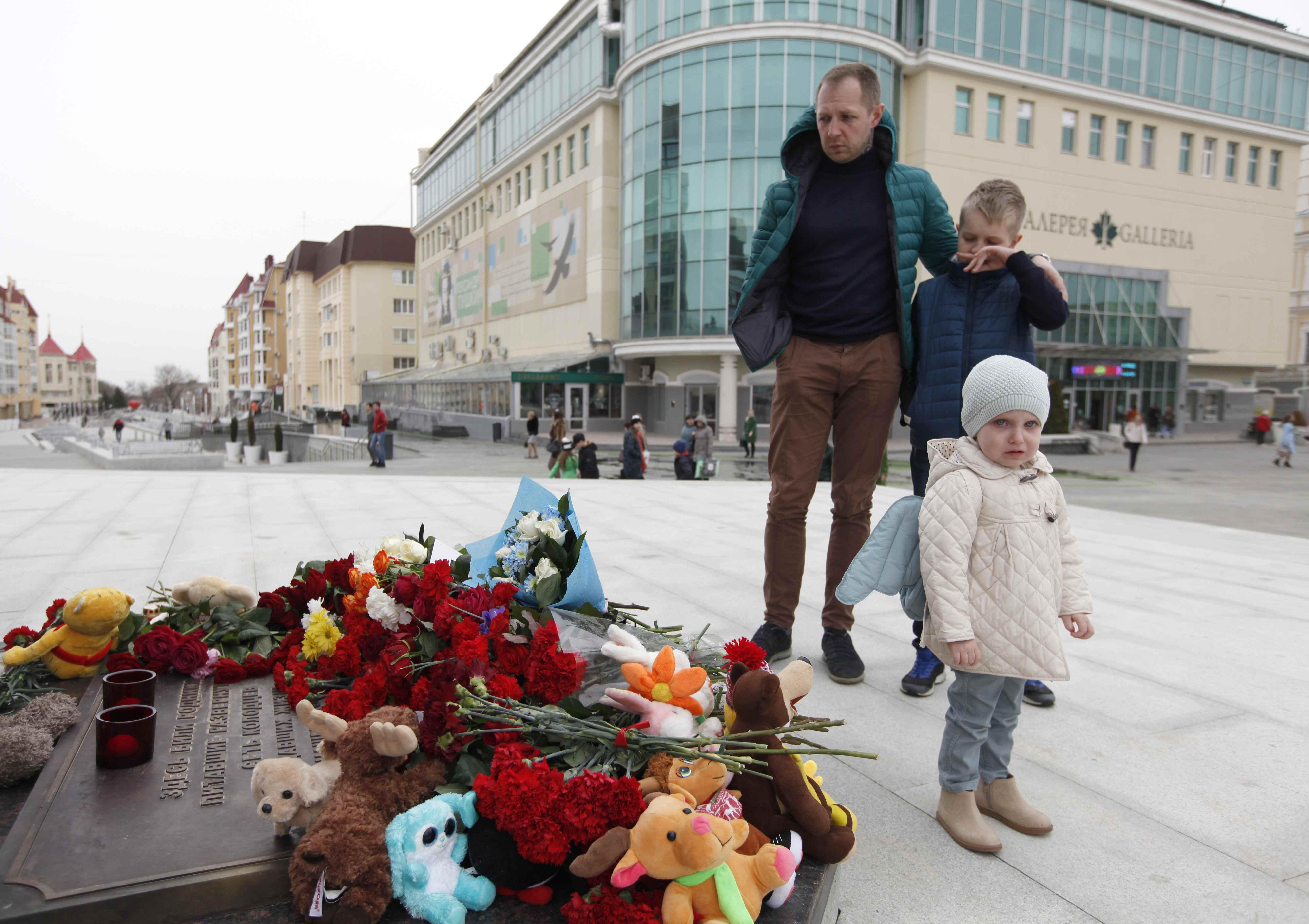 Conmemoración enStavropol, Rusia(REUTERS/Eduard Korniyenko)