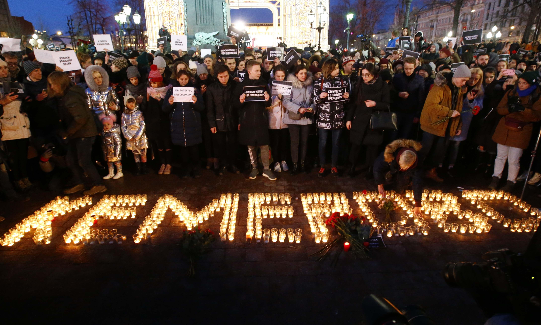 Plaza Pushkinen Moscú (REUTERS/Sergei Karpukhin)