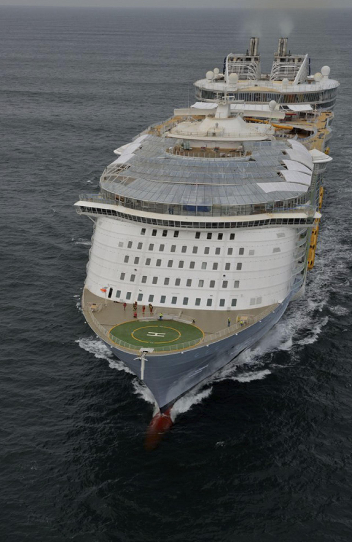 Las Fotos Del Crucero Más Grande Del Mundo Así Es El Espectacular Sinfonía Del Mar Infobae