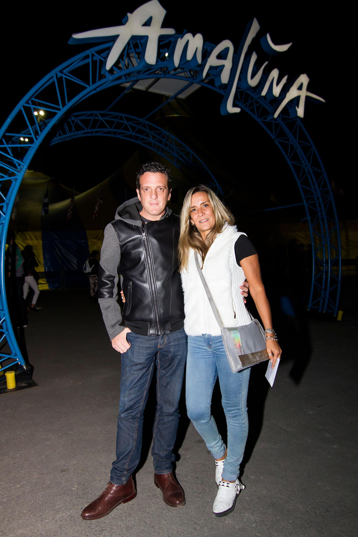 Mauro Szeta y su novia.