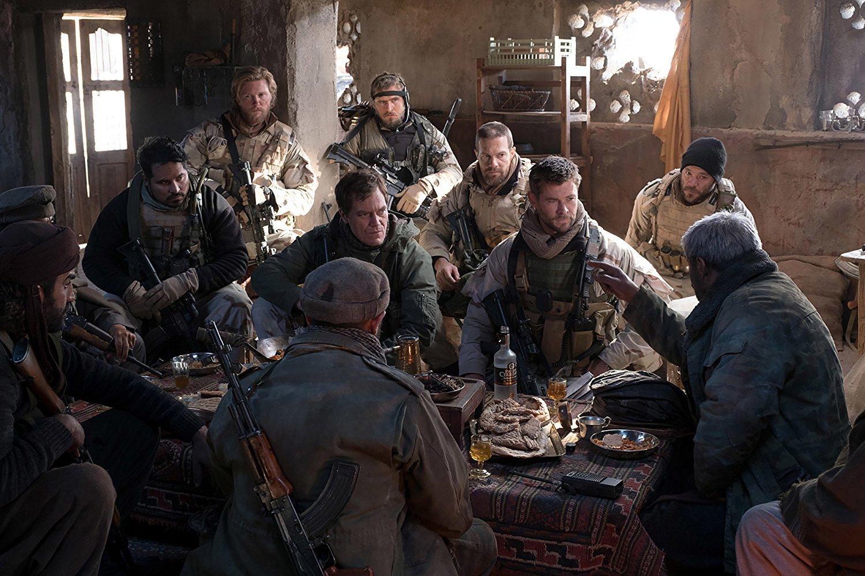 El actor Rob Riggle ejerció de soldado estadounidense durante el periodo en que se basa la película