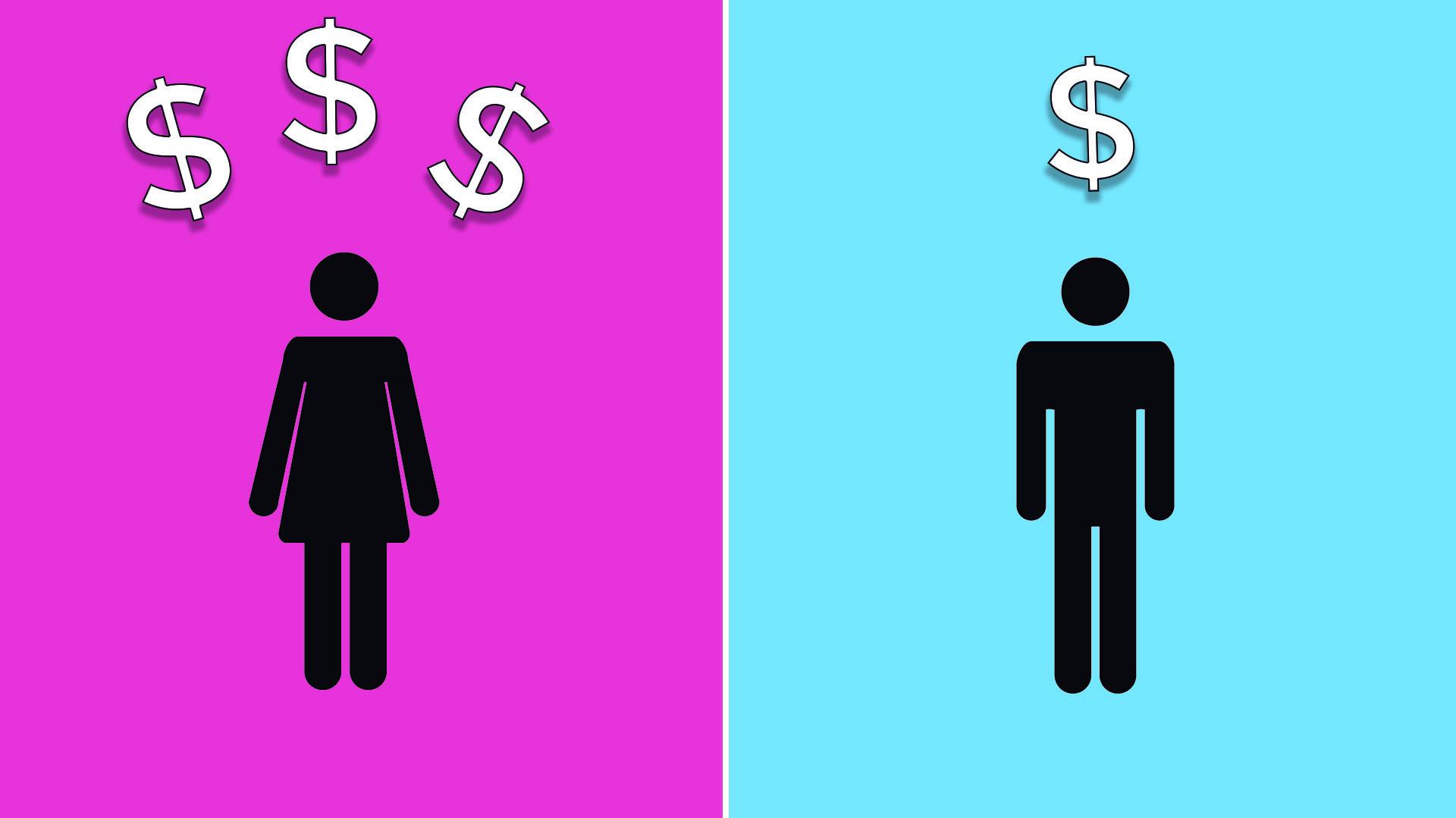El pink tax o impuesto rosa es una discriminación económica basada en el género