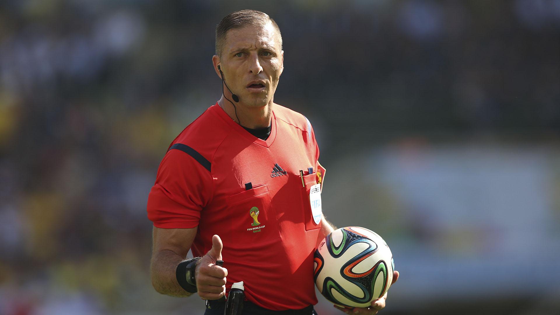 El argentino Néstor Pitana será el árbitro del partido inaugural del Mundial de Rusia 2018 (Getty)