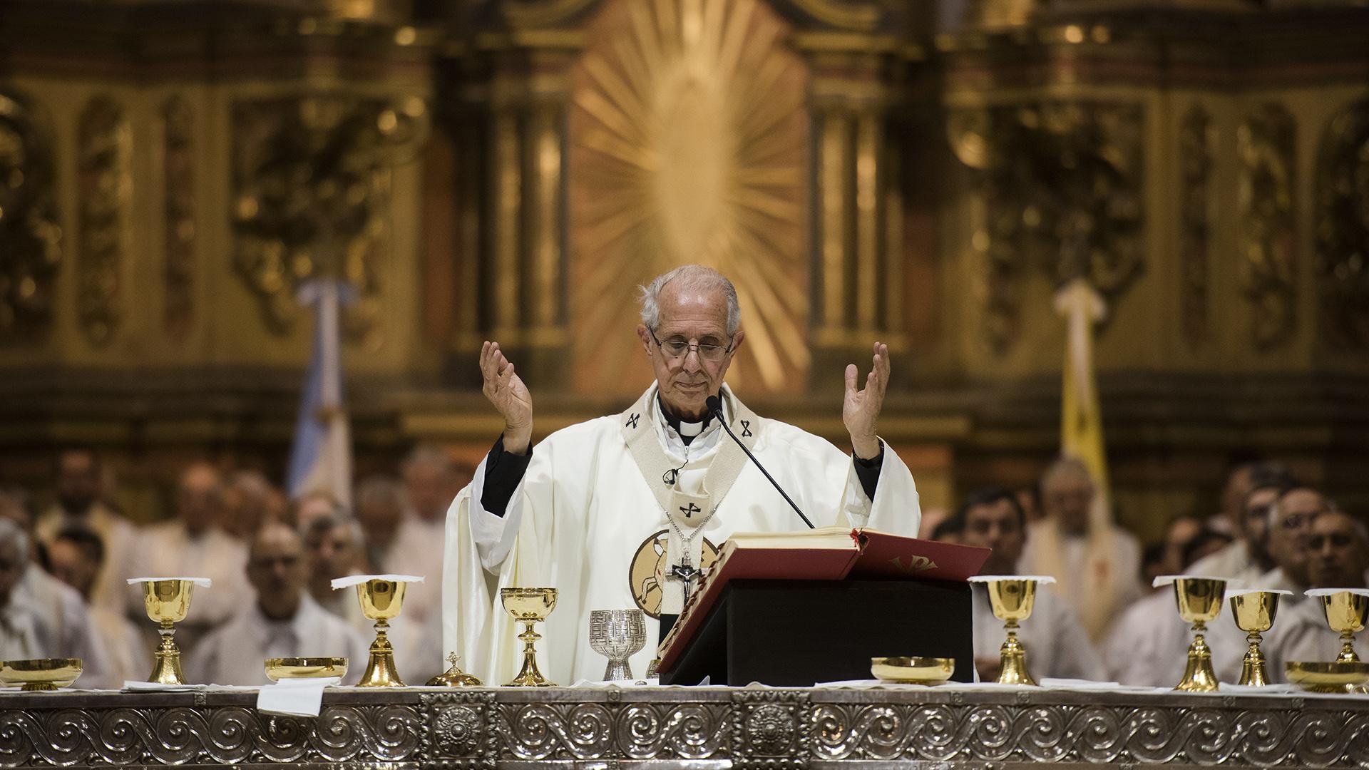 El Arzobispo de la Ciudad de Buenos Aires, Mario Poli