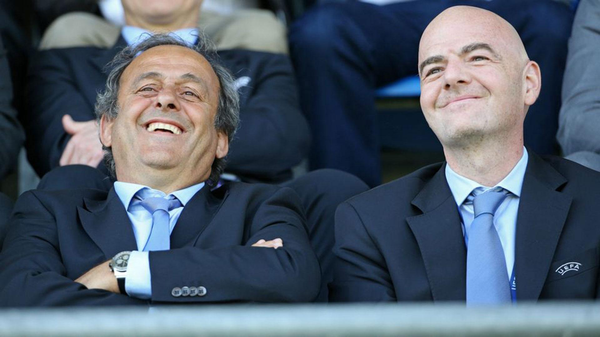 Michel Platini reveló que hubo un amaño en el armado del fixture