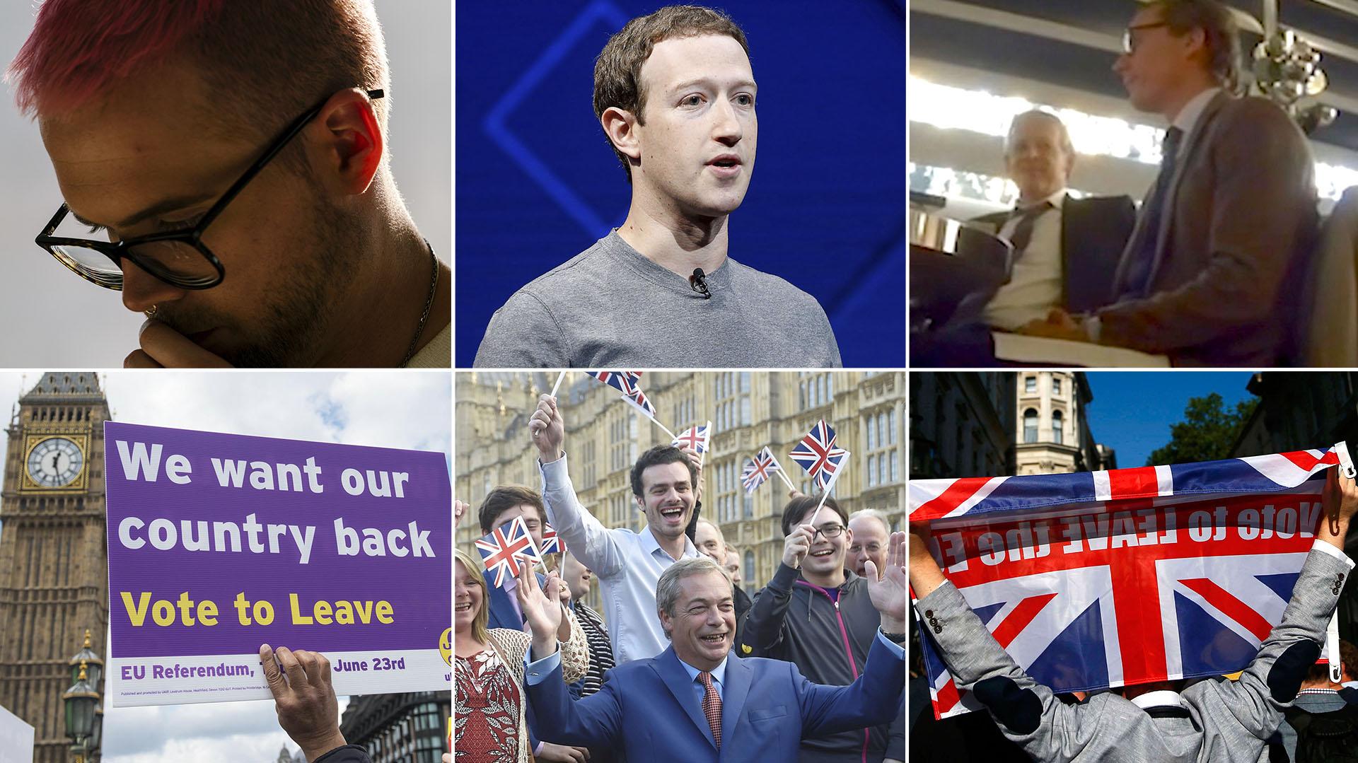 Cambridge Analytica usó datos de Facebook para influir en los votantes a favor del Brexit, entre otras elecciones