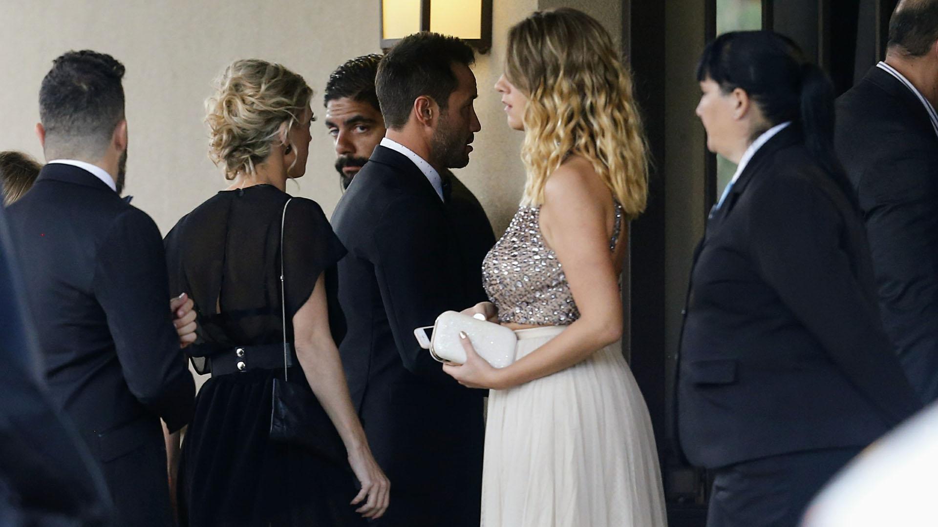 No trascendió si los novios se irán de Luna de Miel tras la ceremonia y la fiesta en Pilar (Nicolás Aboaf)