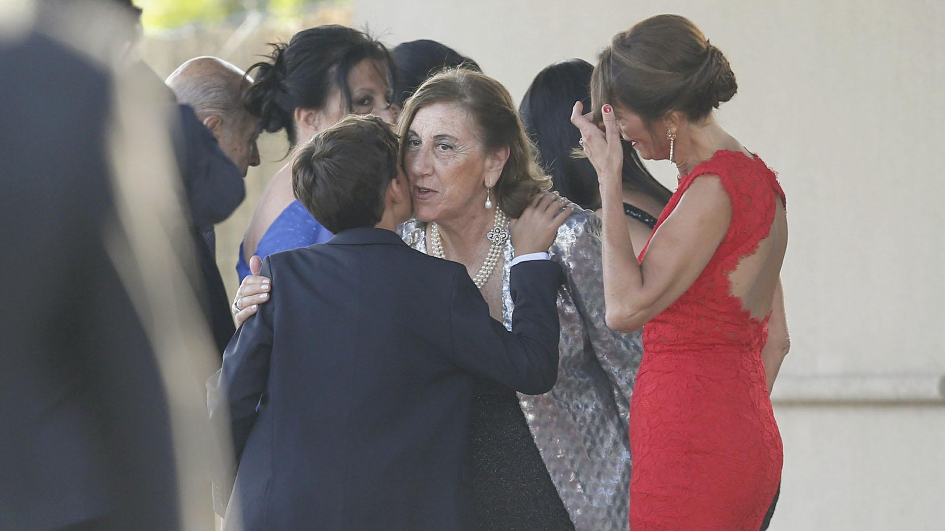 El 23 de marzo la pareja había pasado por el civil (Nicolás Aboaf)