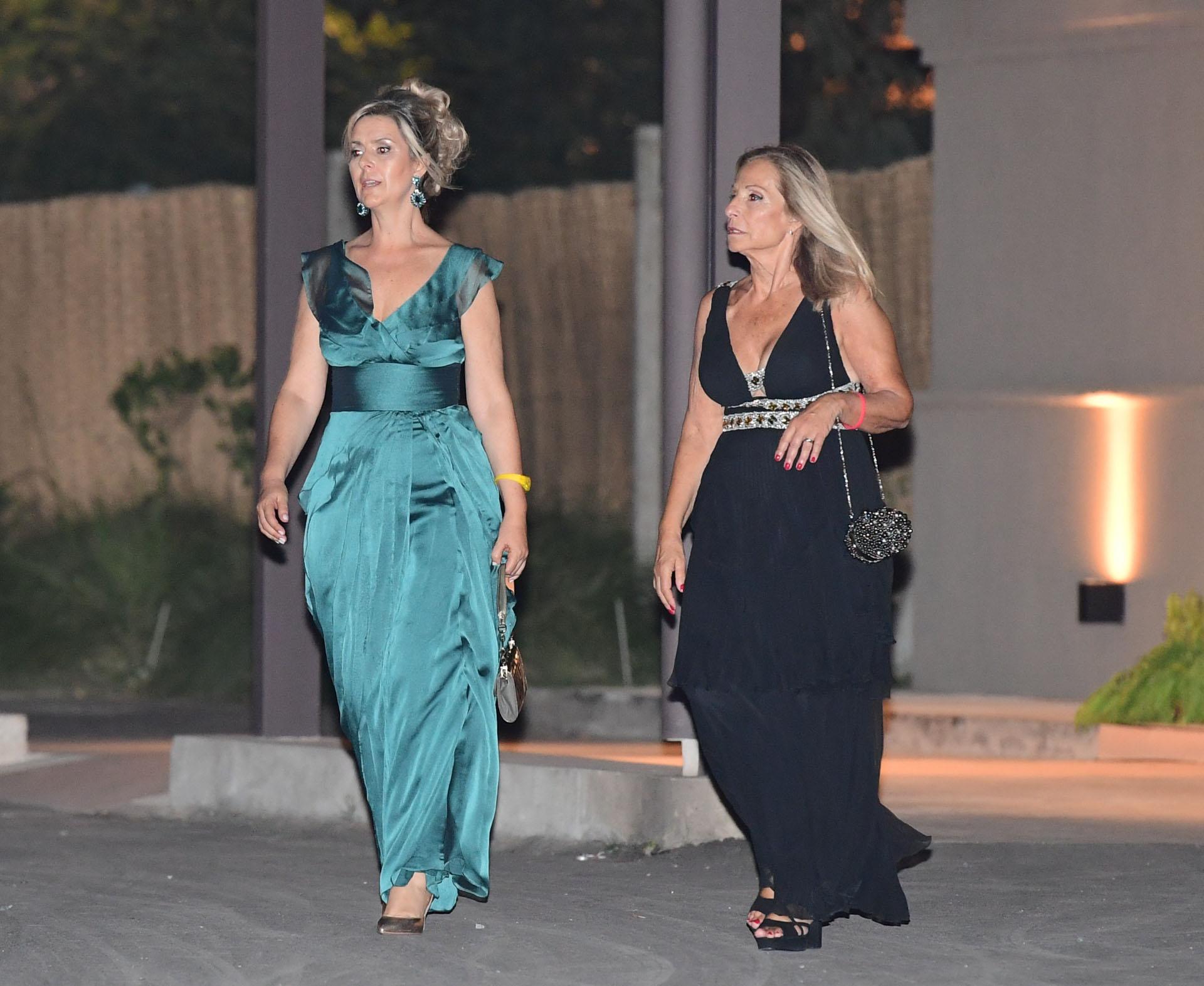 Glamour y distinción, un común denominador entre los invitados (Maxi Luna)
