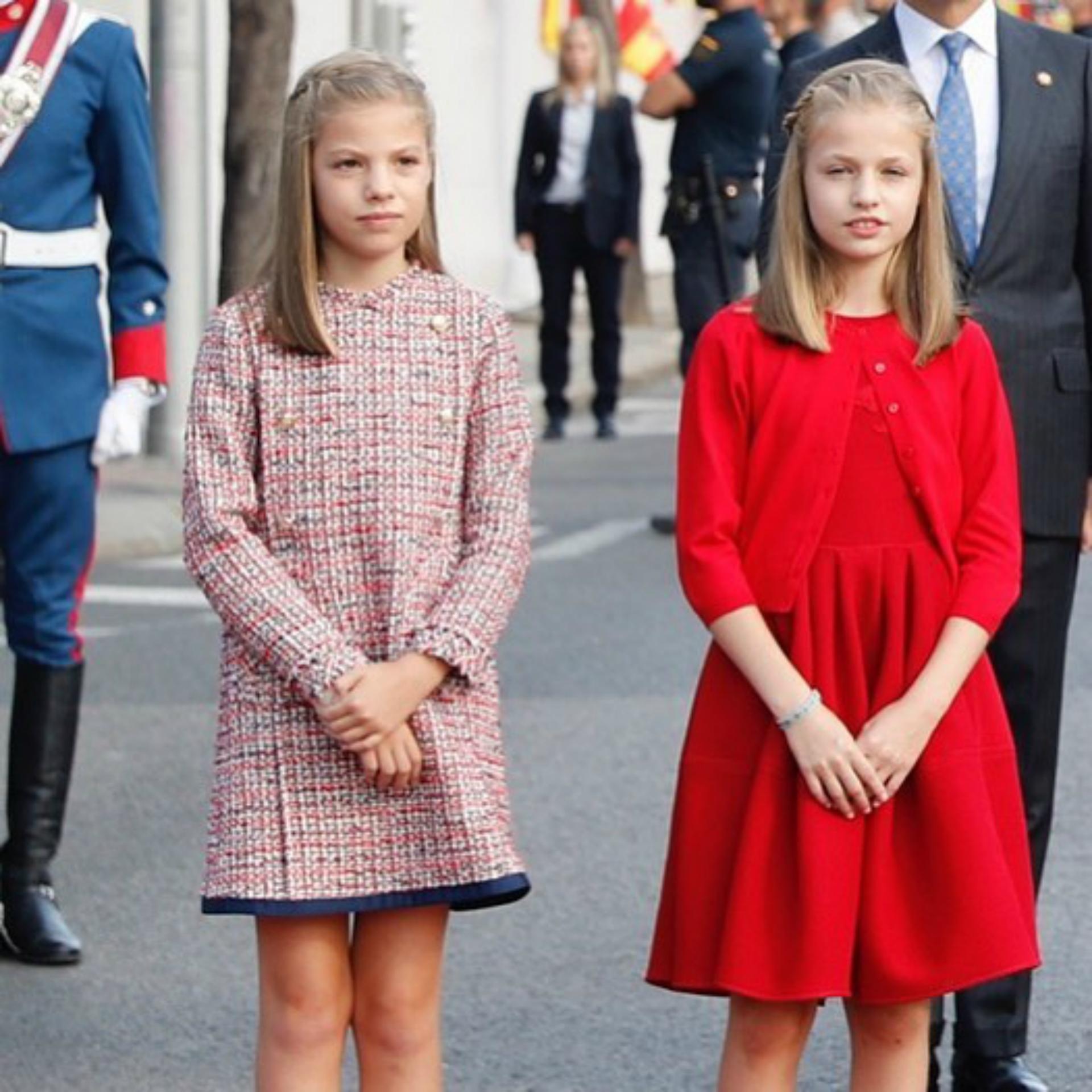 La princesa Leonor y la infanta Sofía. (Foto Instagram)