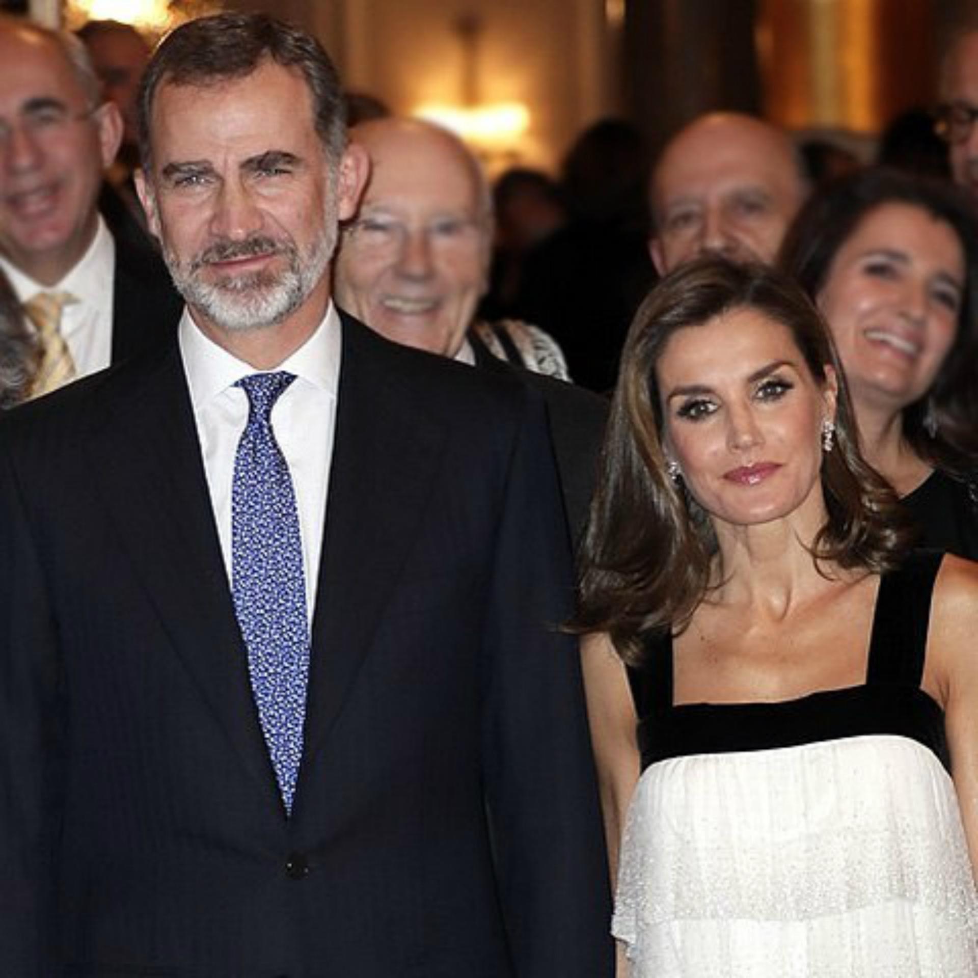Letizia y Felipe se casaron en 2004 y son reyes desde 2014. (Foto Instagram)